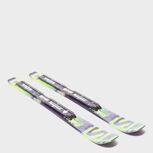 Salomon Q-Lux Jr XS Skis with EZY 7 Bindings