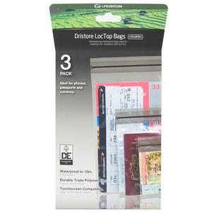 LIFEVENTURE DriStore LocTop Bags - Valuables Pack