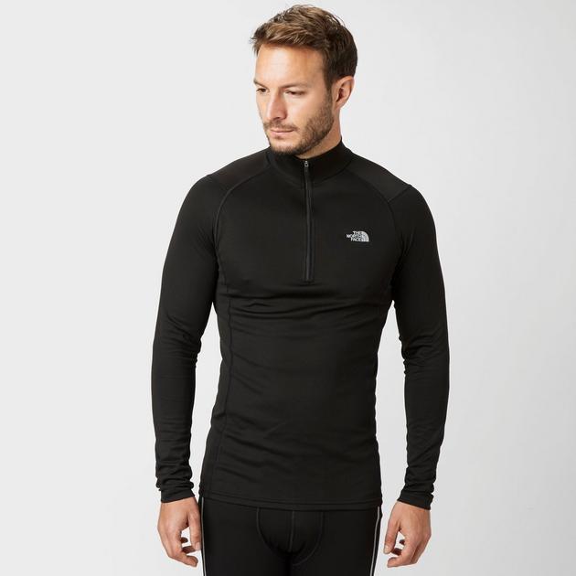 Men's Warm Long Sleeve Half-Zip Baselayer