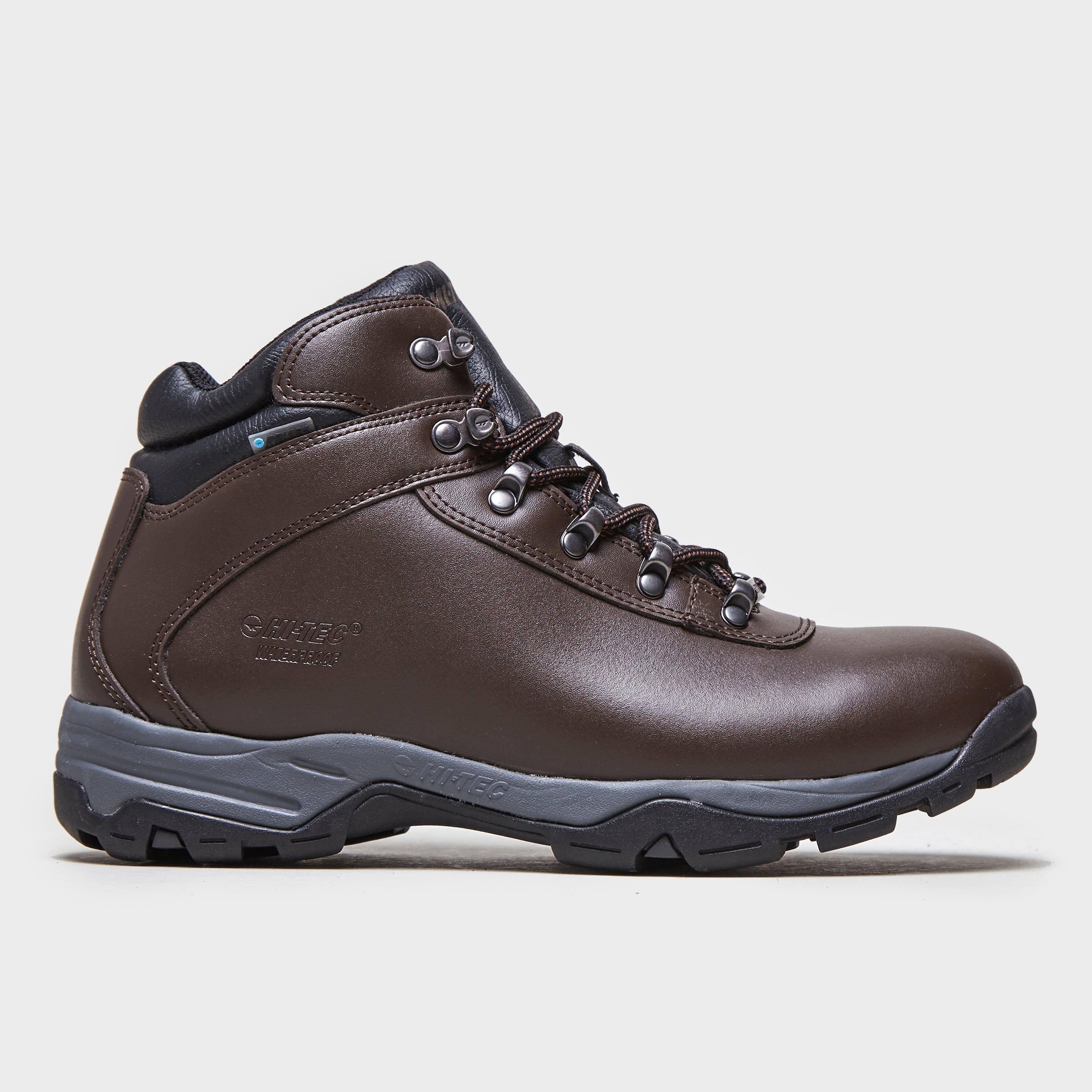 Hi Tec Womens Eurotrek III Waterproof Boots Brown