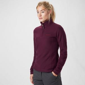 BRASHER Women's Bleaberry Half Zip Fleece