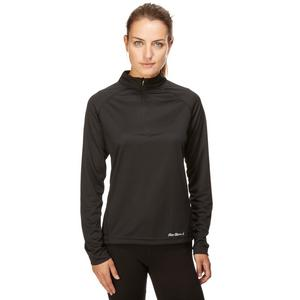 PETER STORM Women's Long Sleeve Tech Zip Tee