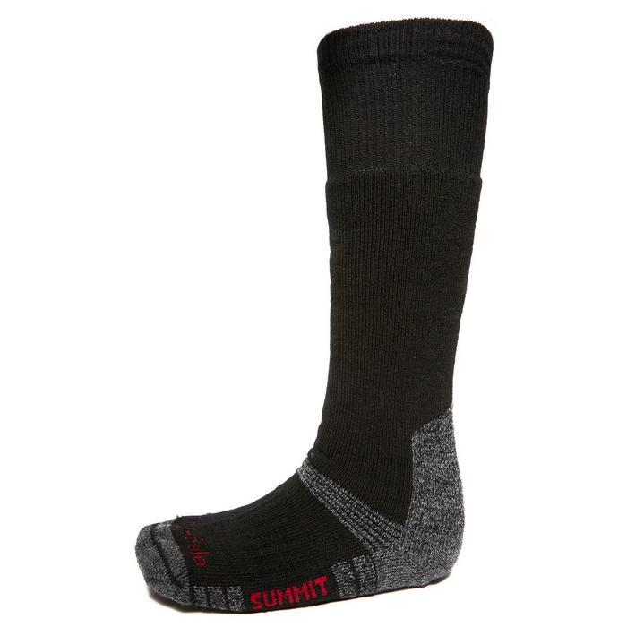 Mens Wool Fusion Summit Knee Socks