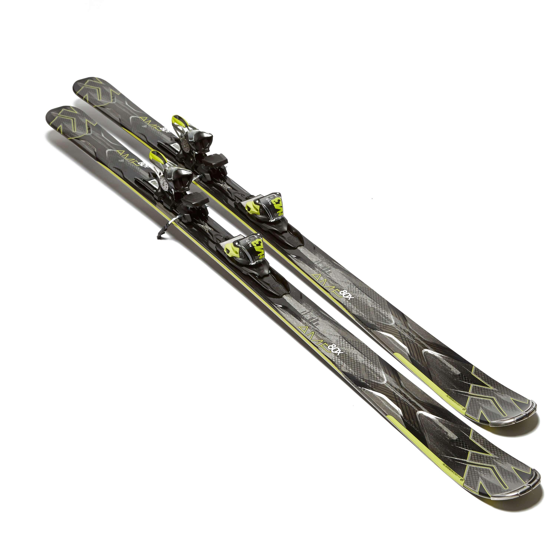 K2 Amp 80X Ski with M3 12 Bindings