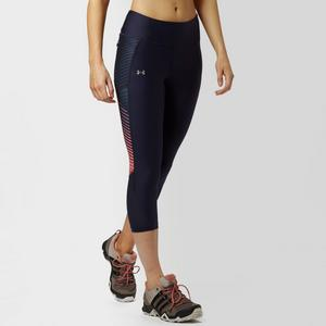 UNDER ARMOUR Women's Fly-By Run Capri Leggings