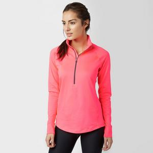 UNDER ARMOUR Women's UA ColdGear Half-Zip Long Sleeve Top