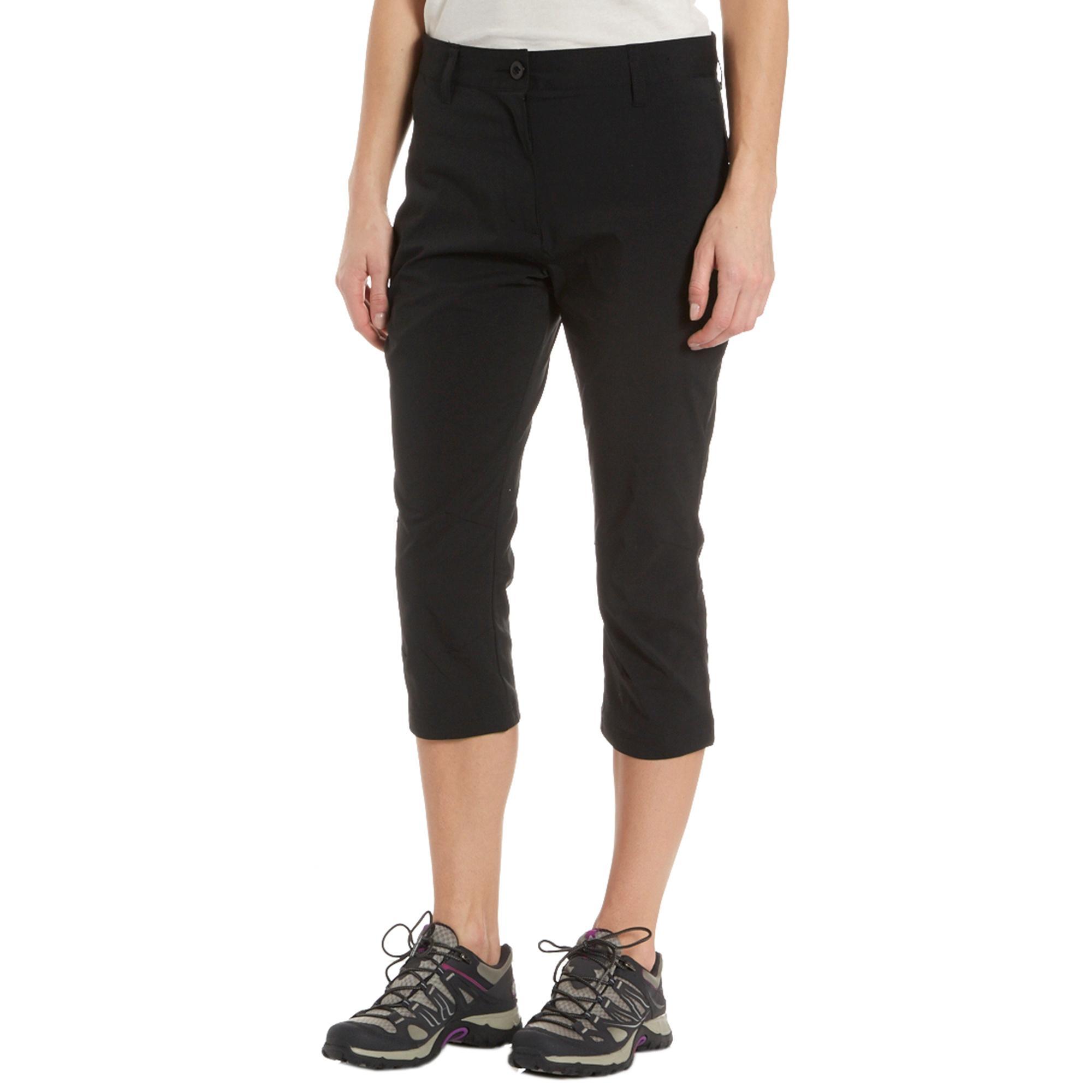 Peter Storm Women's Stretch Capris, Black
