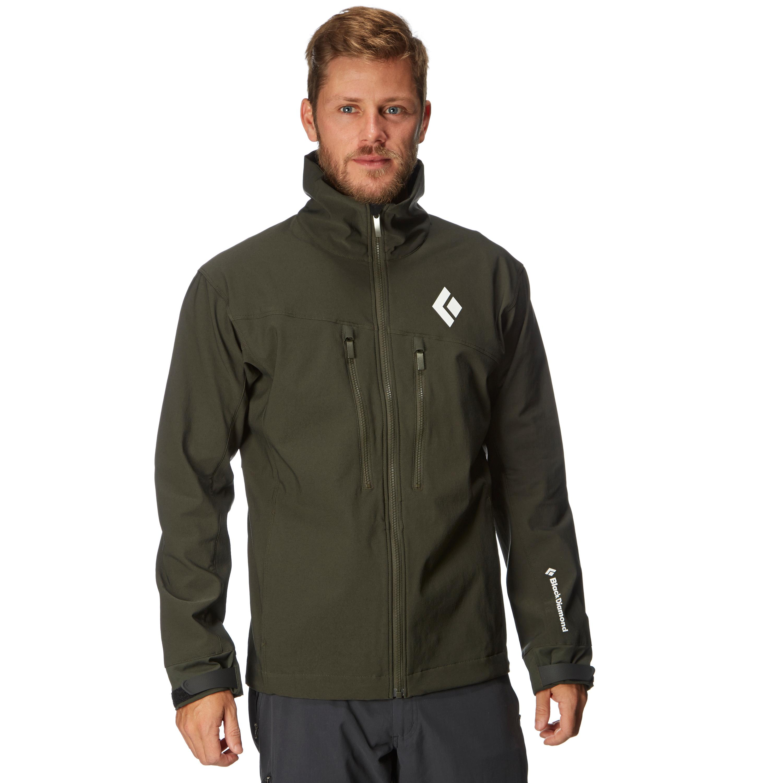 Black Diamond Mens Dawn Patrol Jacket Green