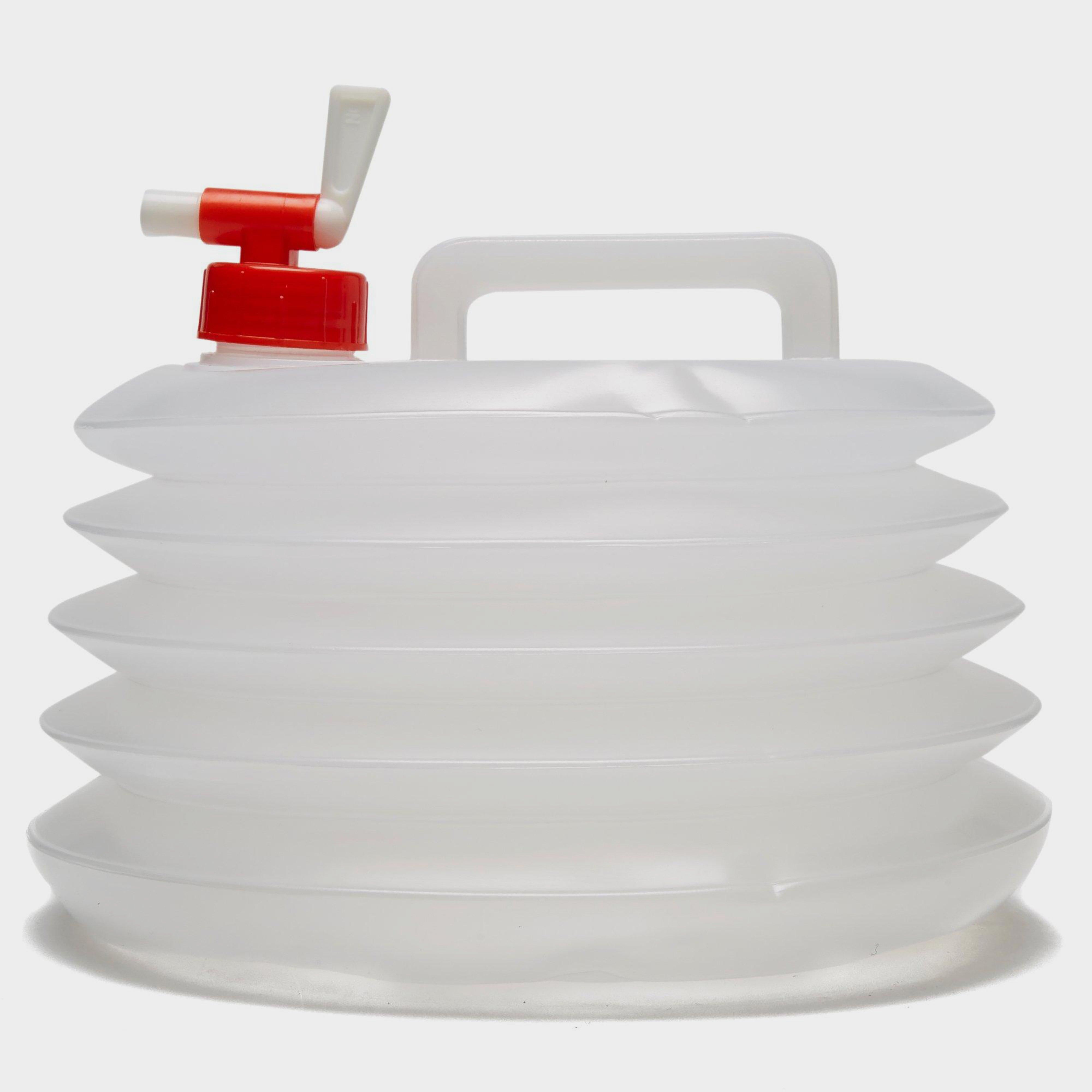 Vango Foldable 8 Litre Water Carrier White