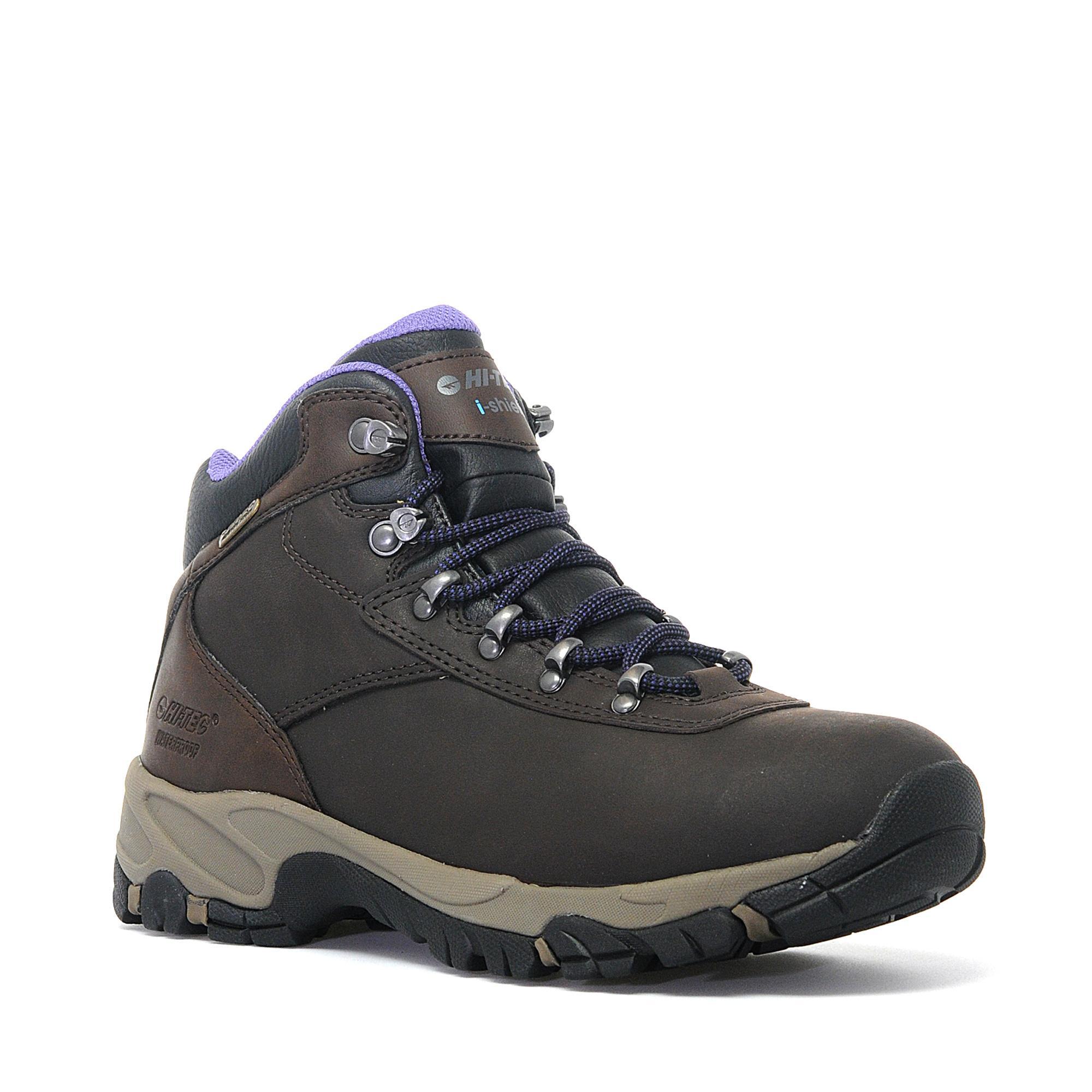 Hi Tec Womens Altitude VI Waterproof Hiking Boot Brown