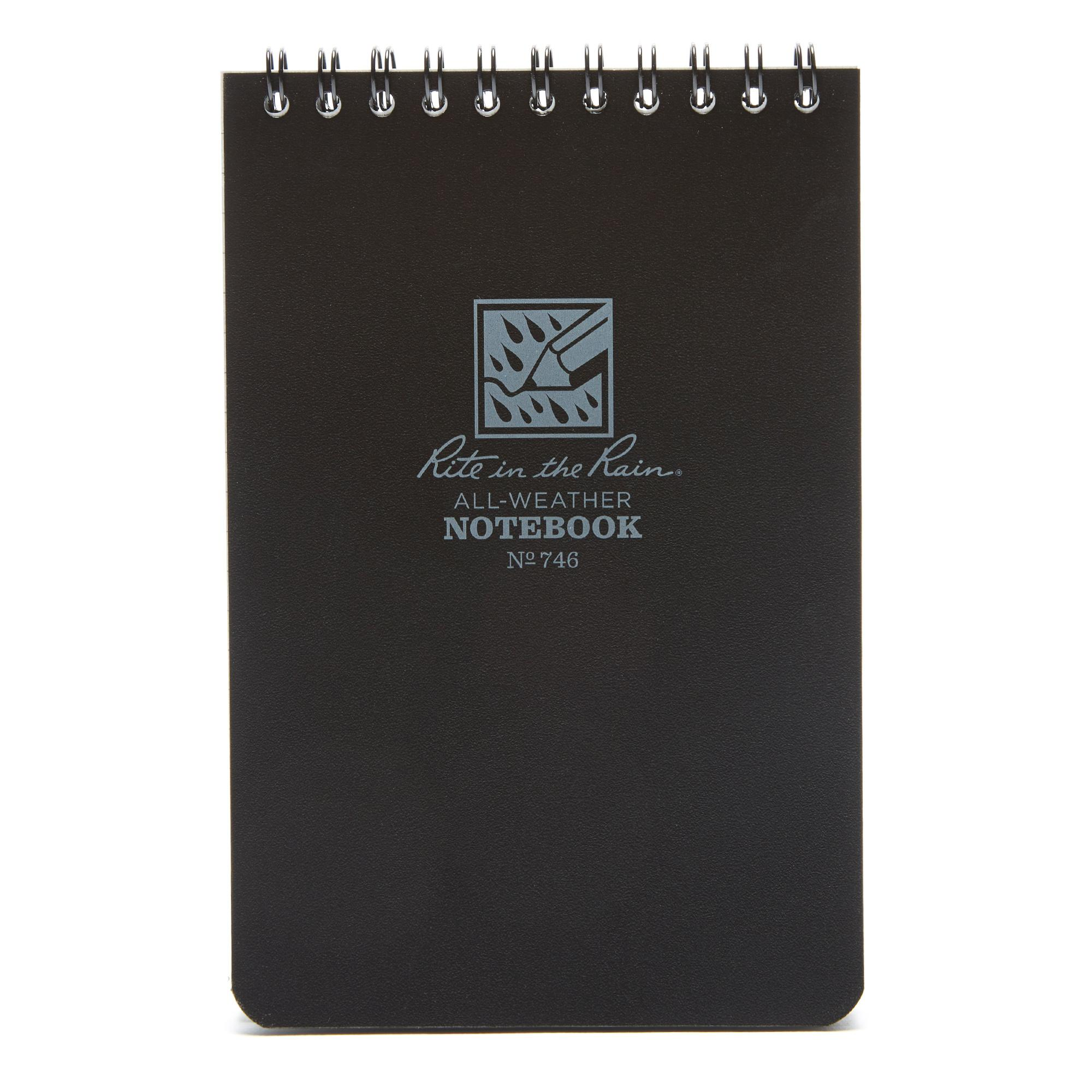 Rite Waterproof Notepad (6x4) Black