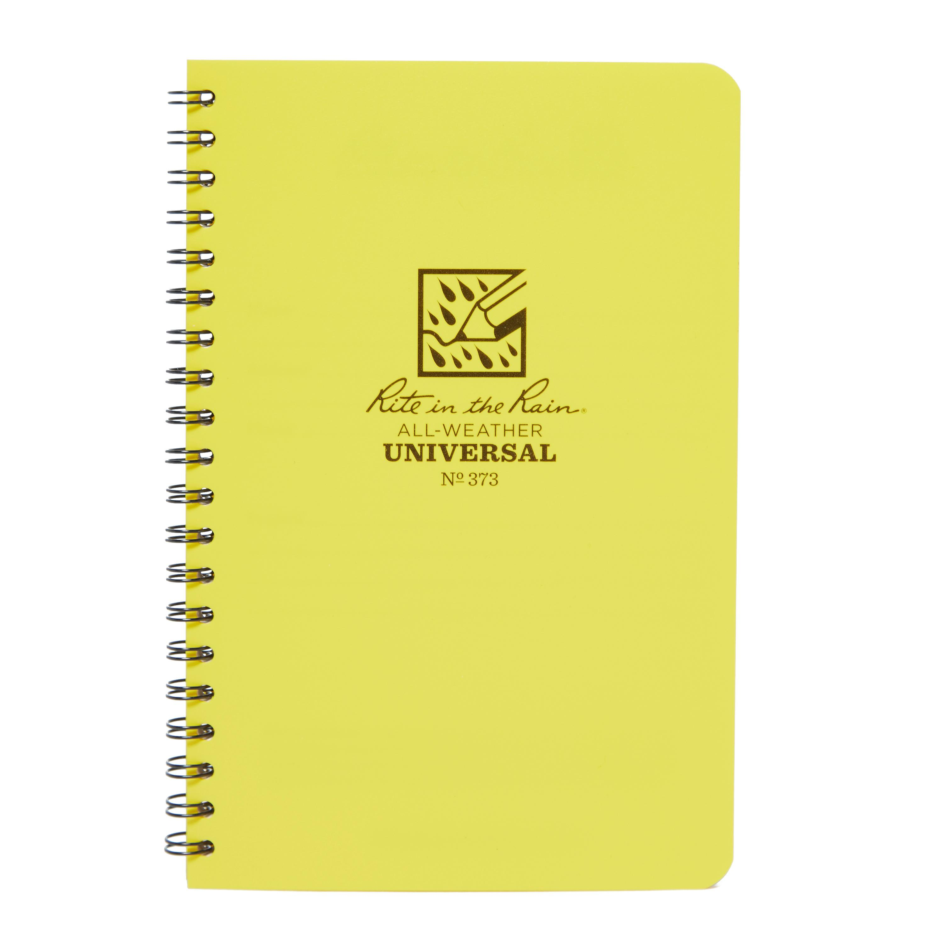 "Rite Waterproof Outdoor Journal (4.6""x7"") Yellow"