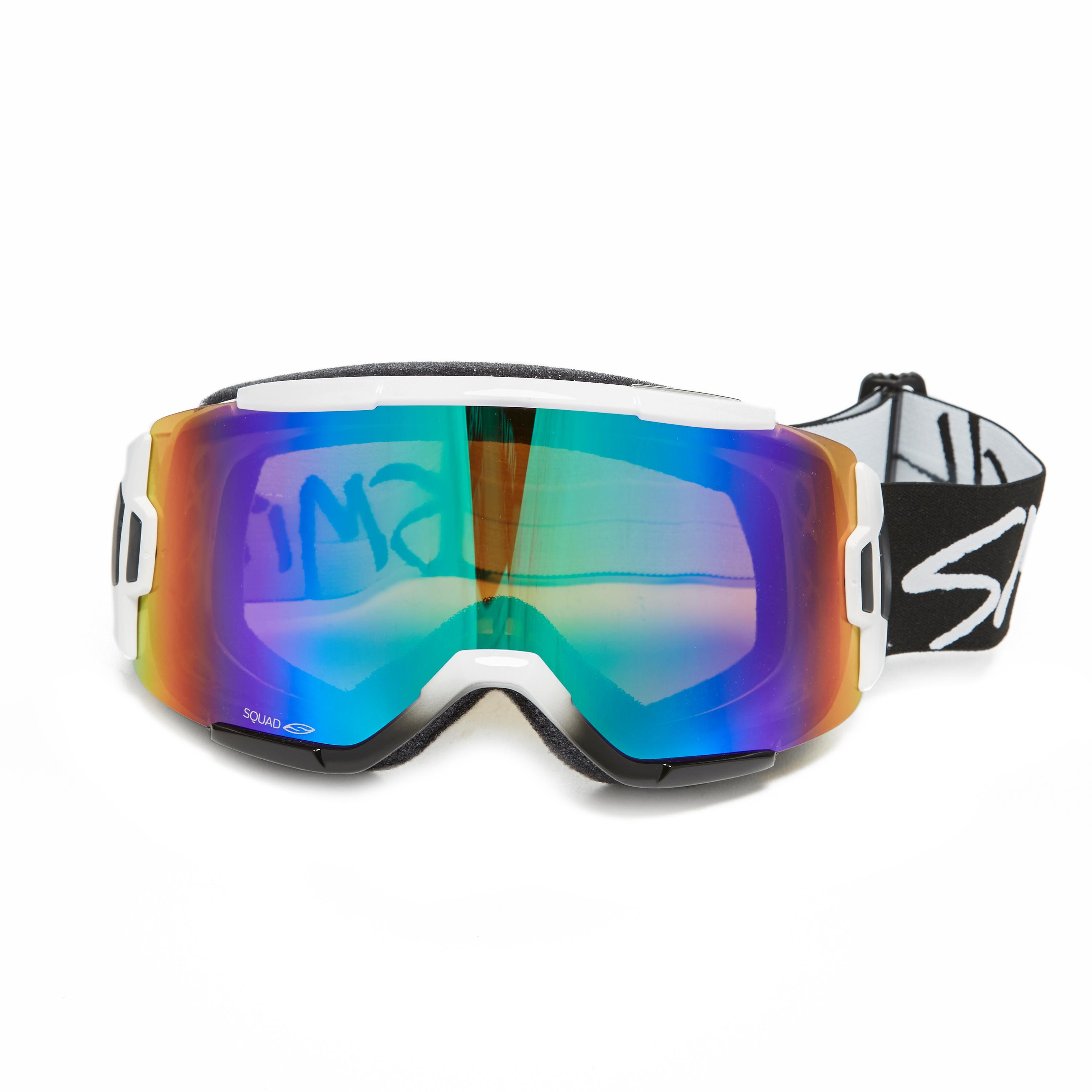 Smith Optics Squad Snow Goggles, White