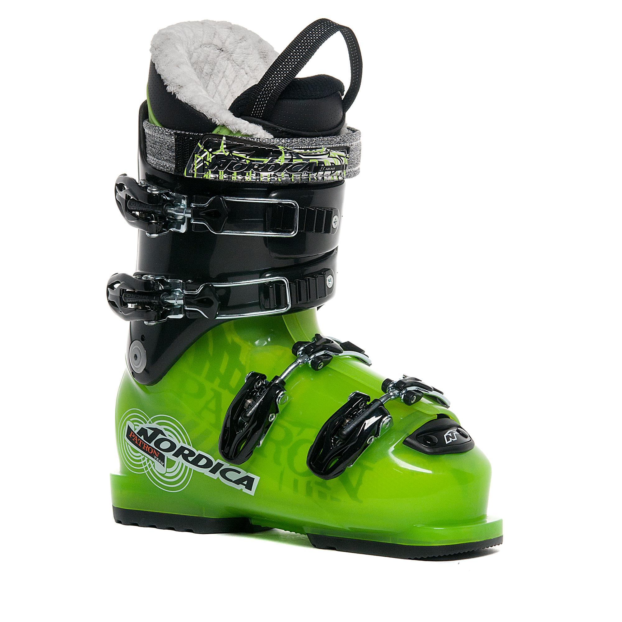 Nordica Patron Team Ski Boots, Green