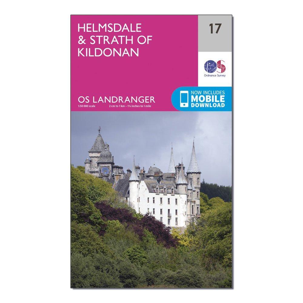 Ordnance Survey Landranger 17 HelmsdaleandStrath Of Kildonan Map With Digital Version - D/d  D/d