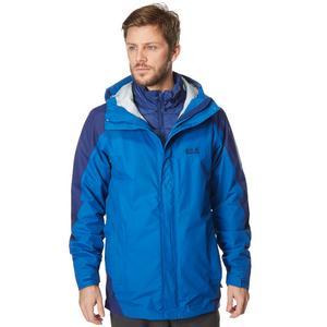 JACK WOLFSKIN Men's Ice Portage 3 in 1 Jacket
