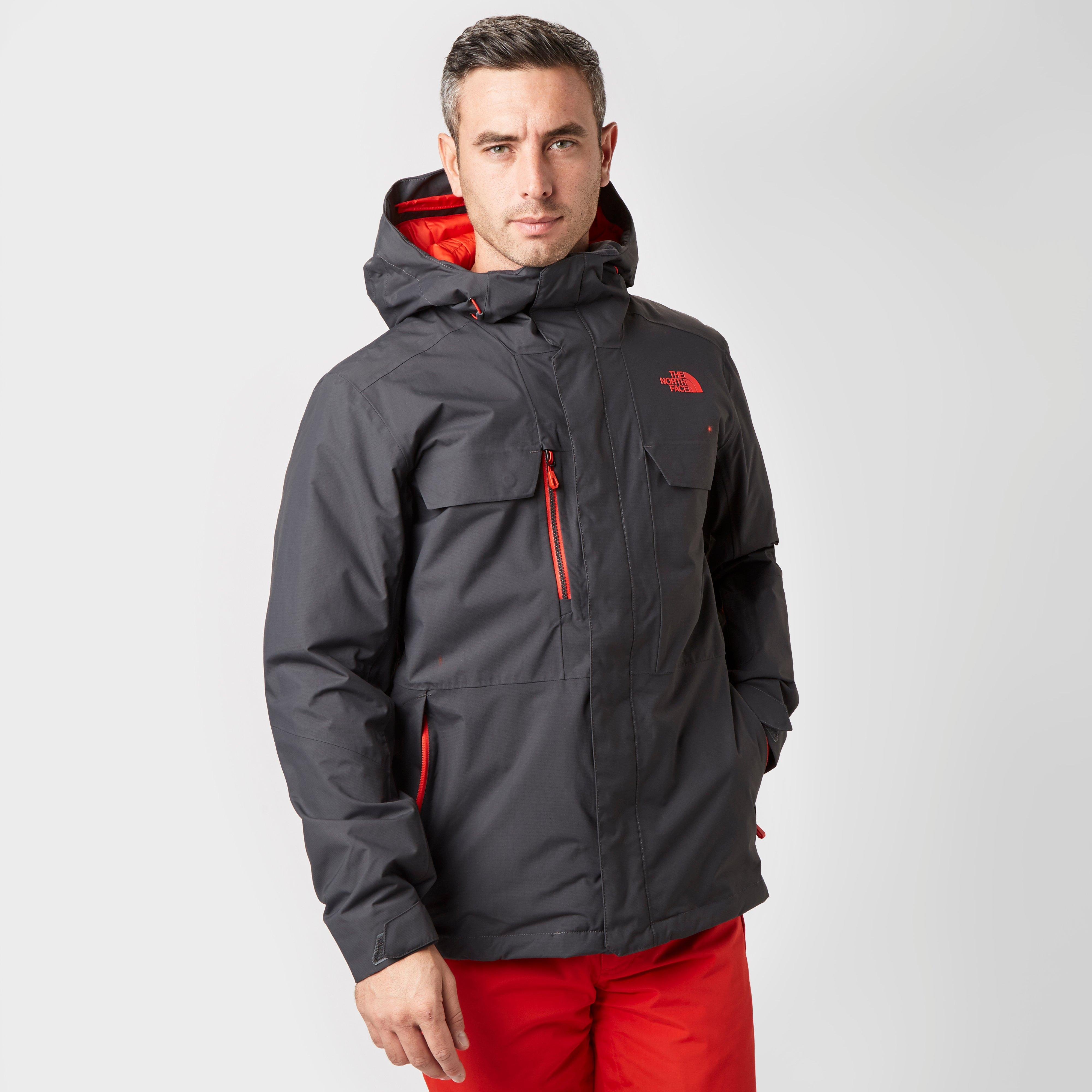 The North Face Mens Hitcher Insulated Jacket Grey