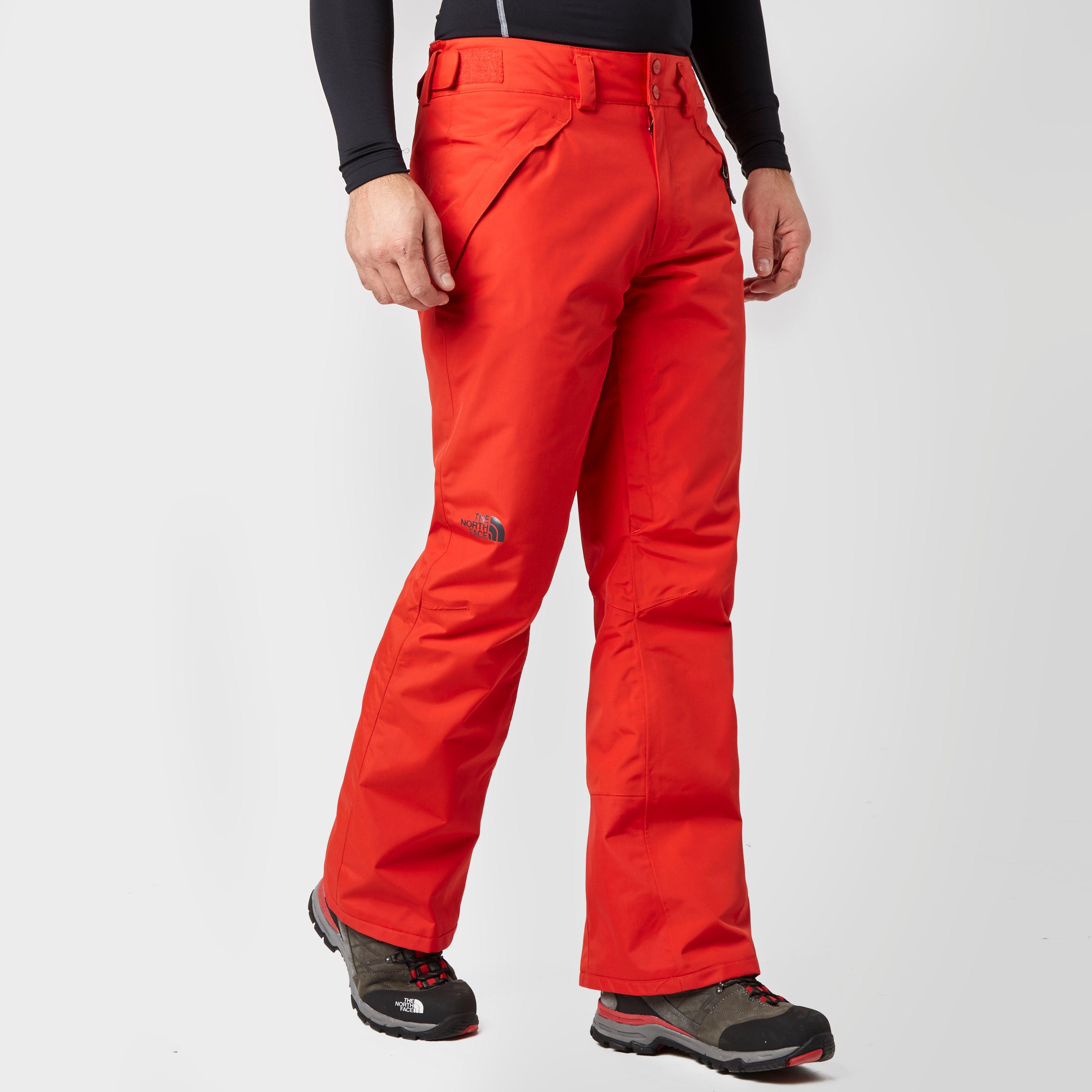 The North Face Mens Presena Ski Pants Red