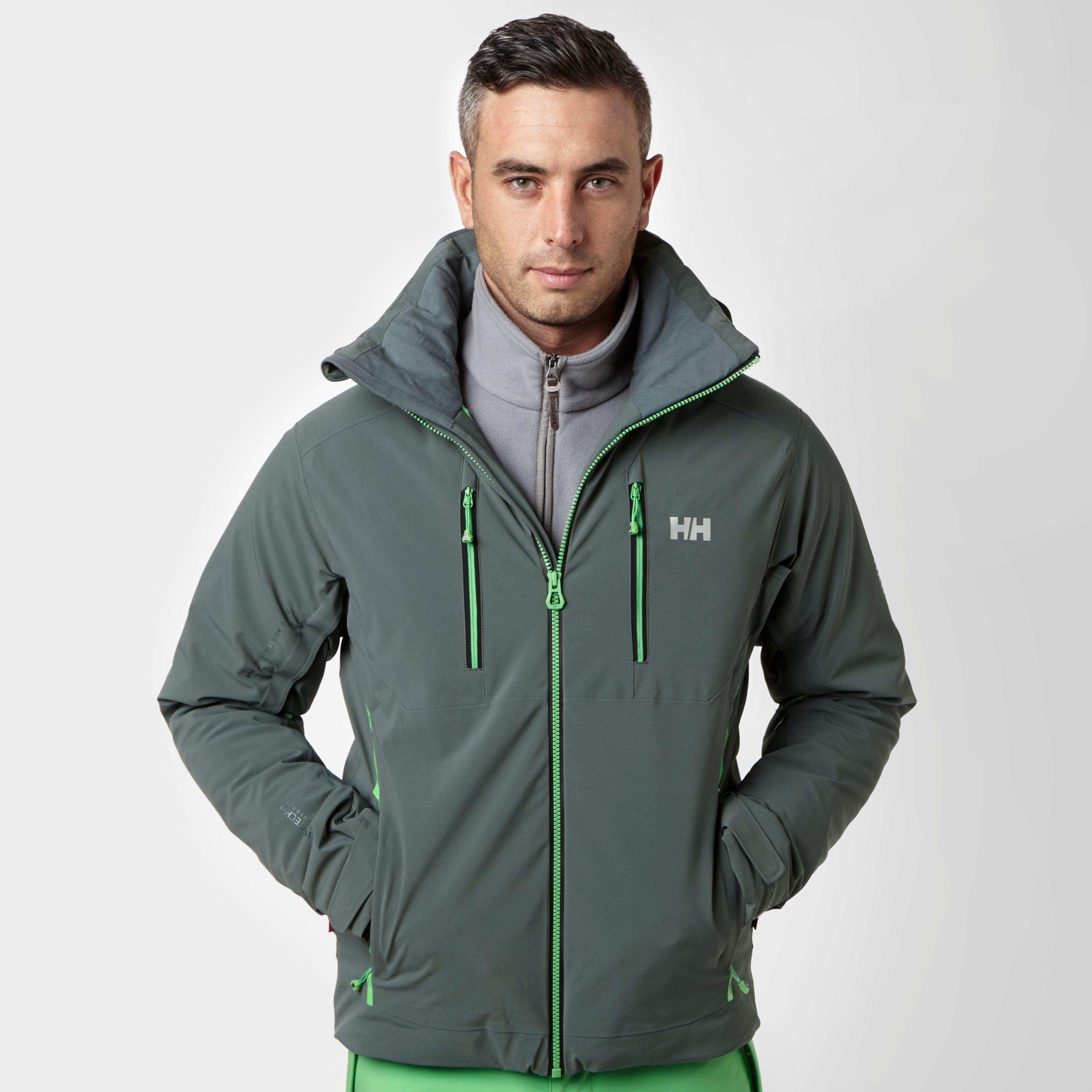 Helly Hansen Mens Alpha 2.0 Ski Jacket Grey