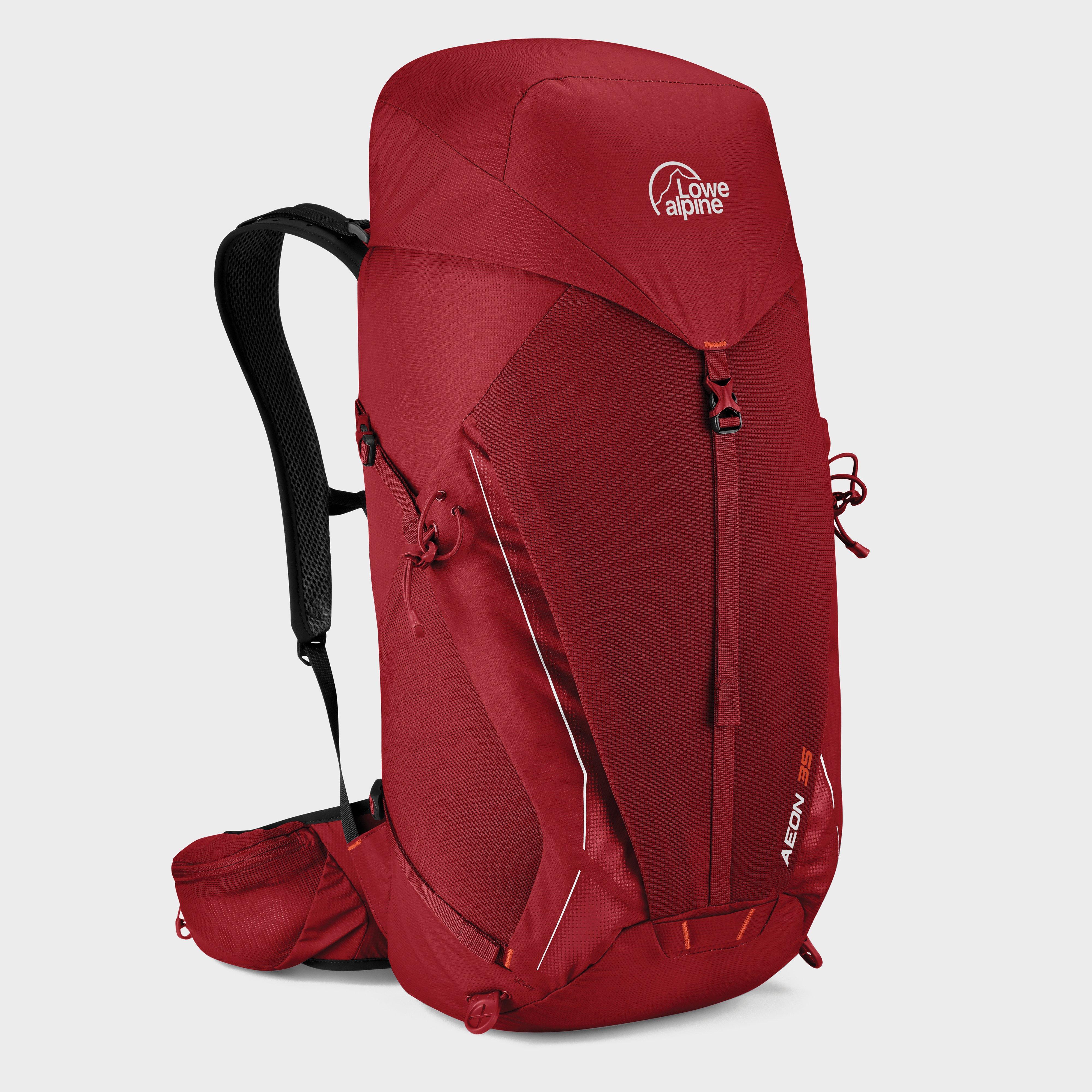 Lowe Alpine Aeon 35L Daypack - Dark Red, Dark Red