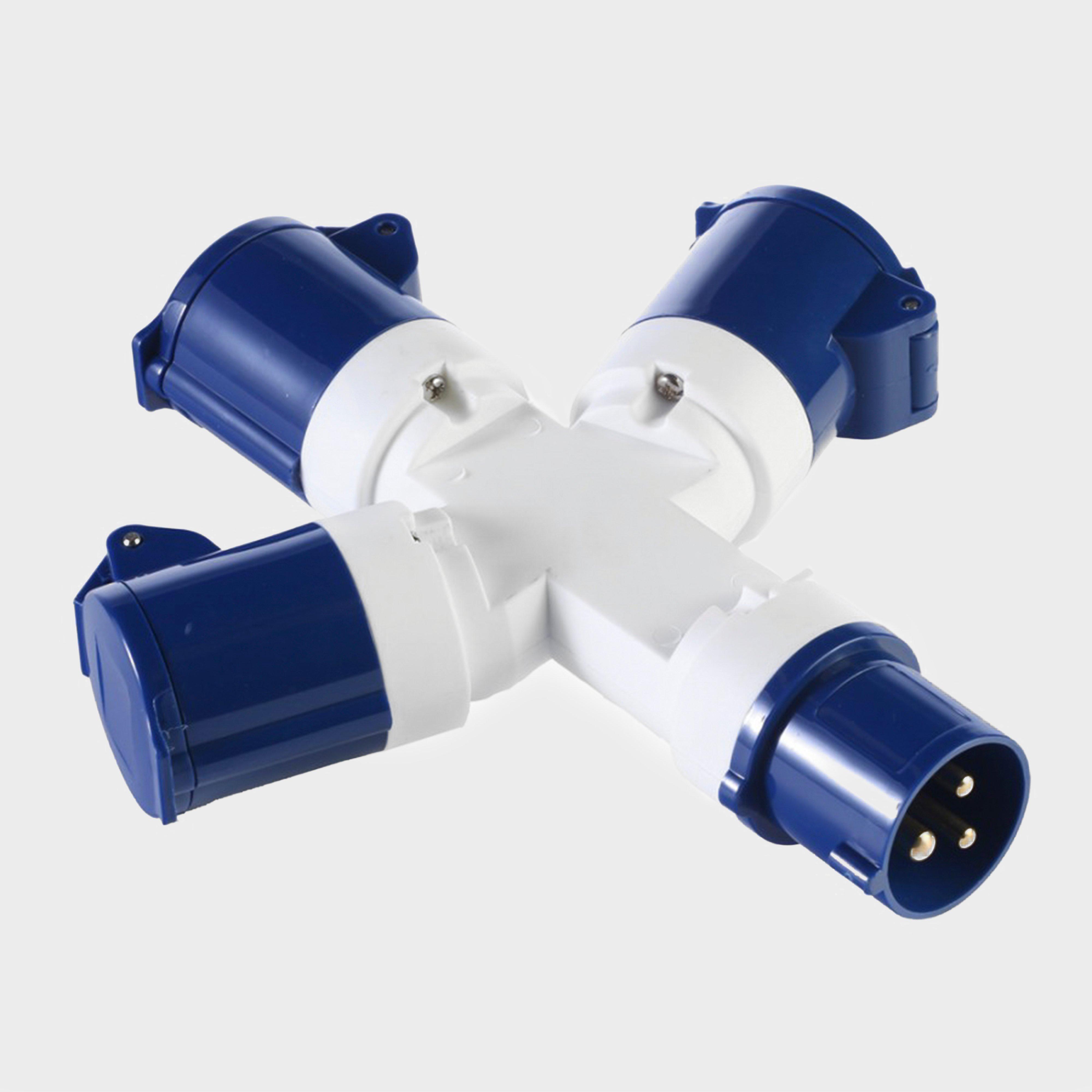 Vango 3-way Distributor Power Adapter - White/adap  White/adap