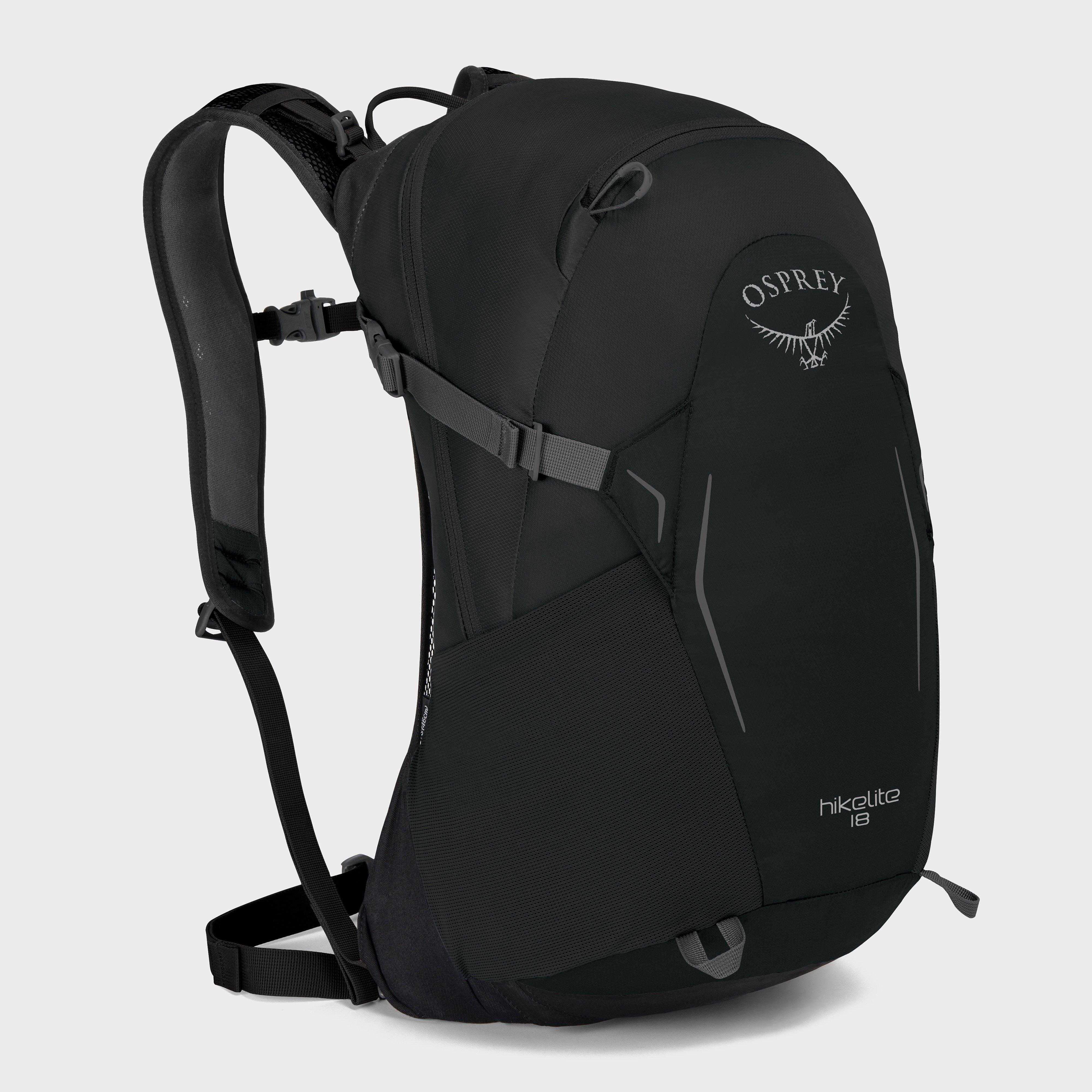 Osprey Hikelite 18 Daypack - Black, Black