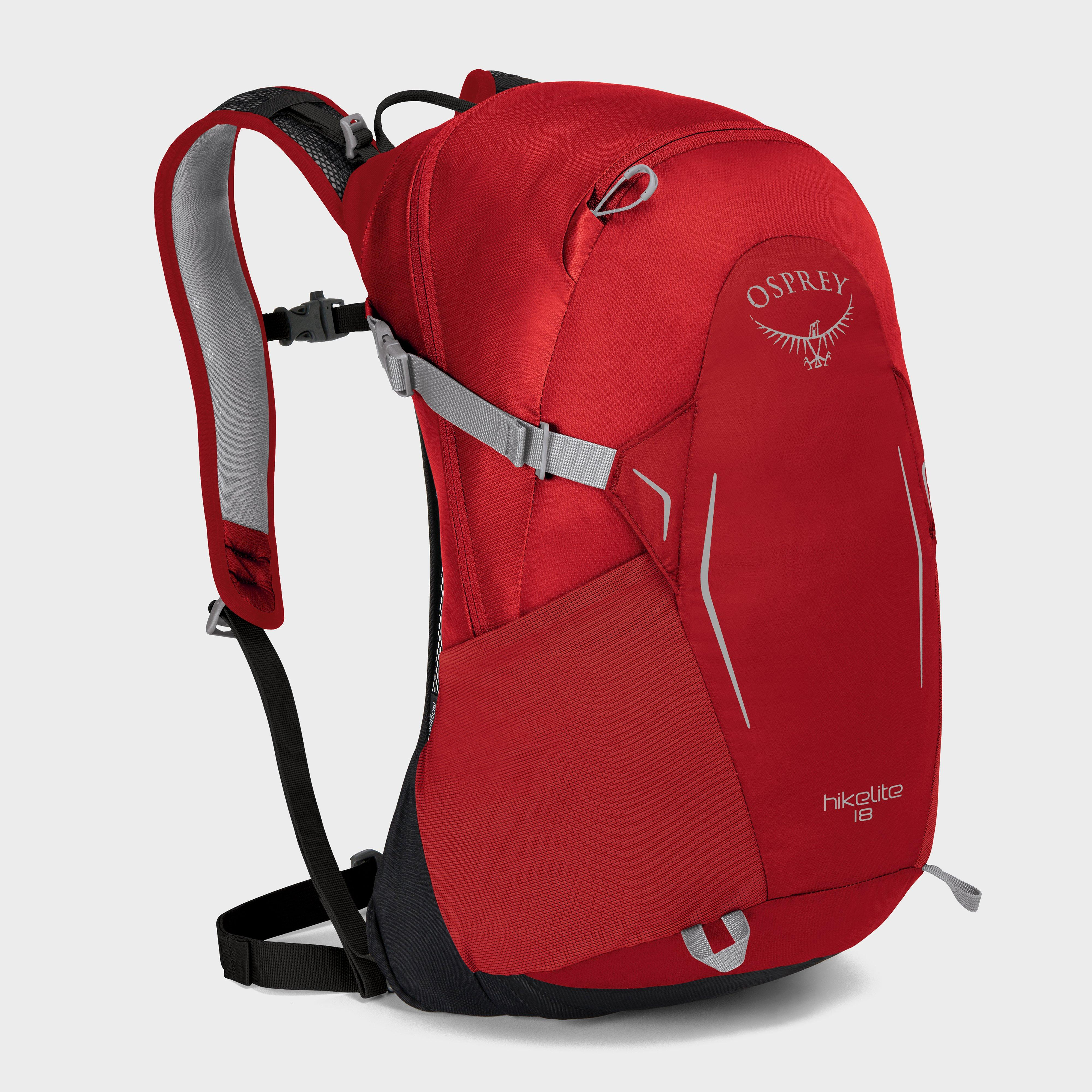 Osprey Hikelite 18 Daypack - Red, Red