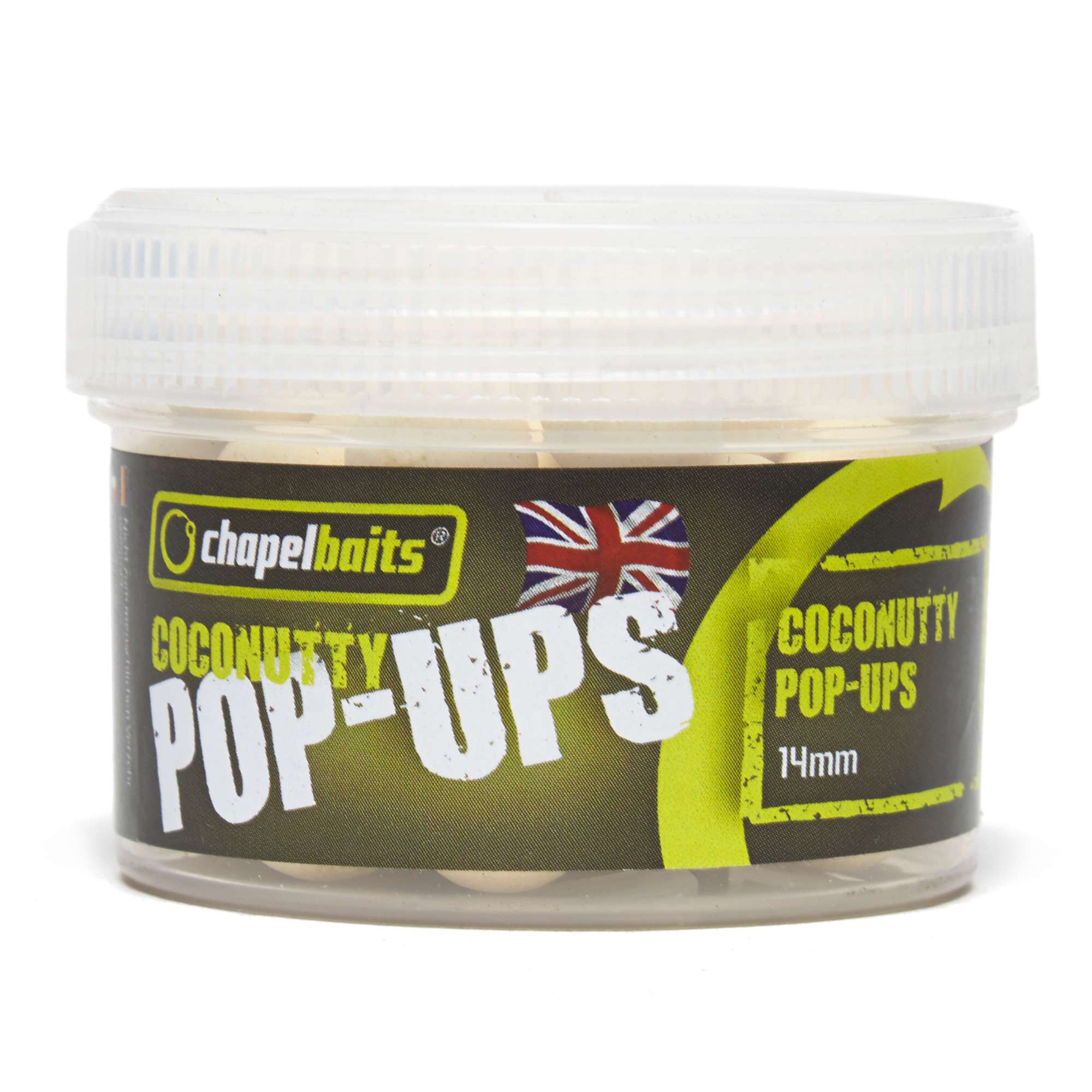 CHAPEL BAITS Coconutty Pop Ups Session Pack, 14mm