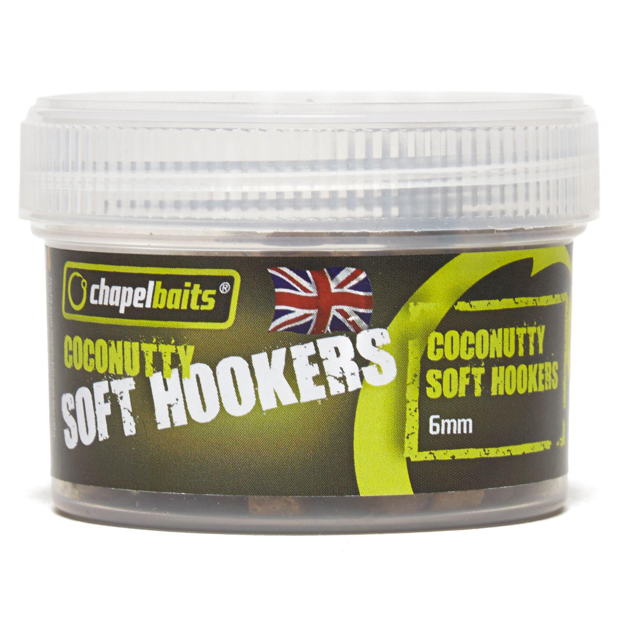 CHAPEL BAITS 6mm Soft Hooker Pellets, Coconutty