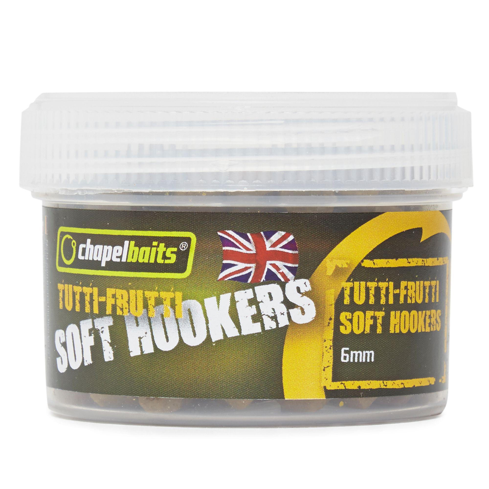 CHAPEL BAITS 6mm Soft Hooker Pellets, Tutti Fruitti