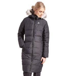 Salomon Women's Coteaux Long Down Parka