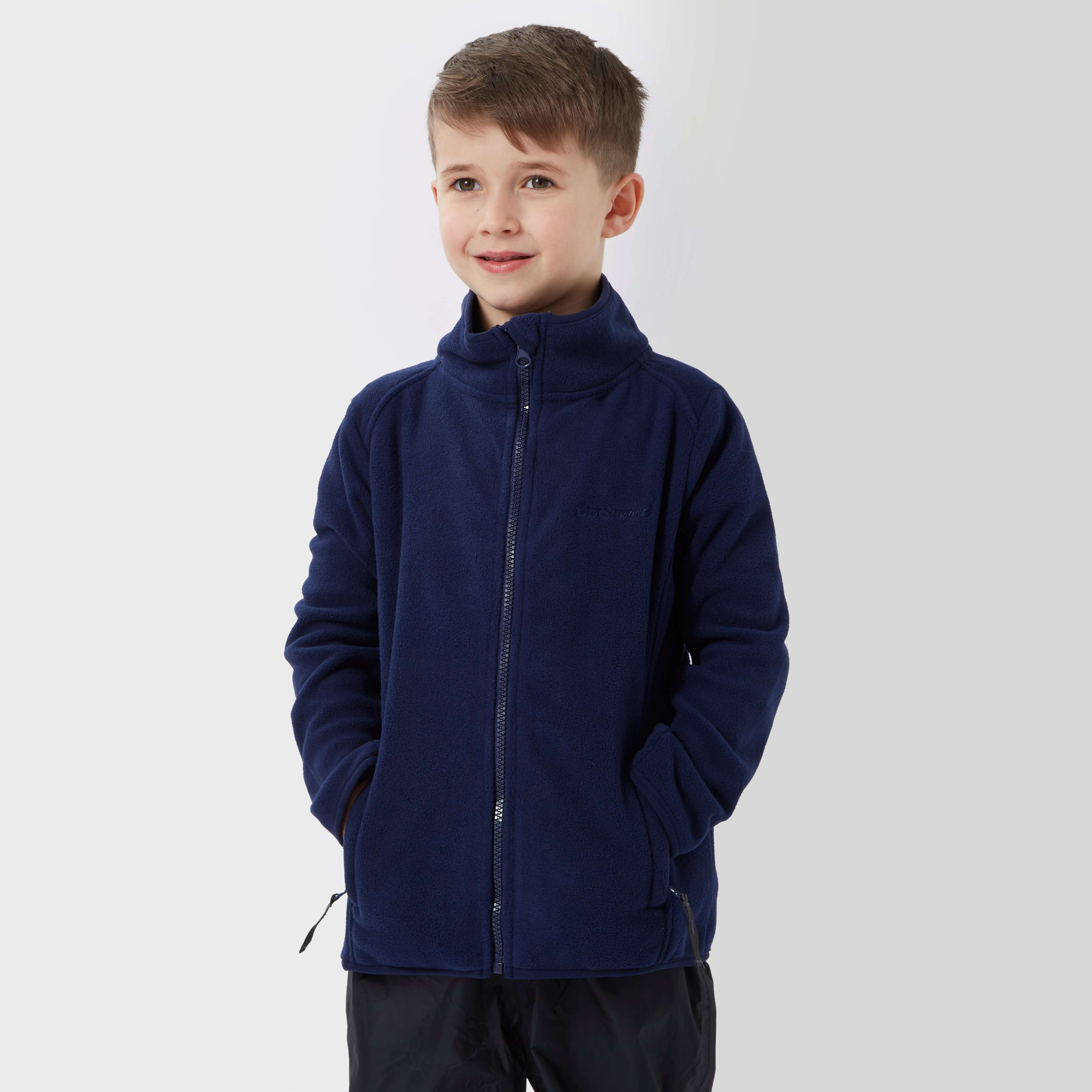 PETER STORM Kids' Unisex Stormy Full Zip Fleece