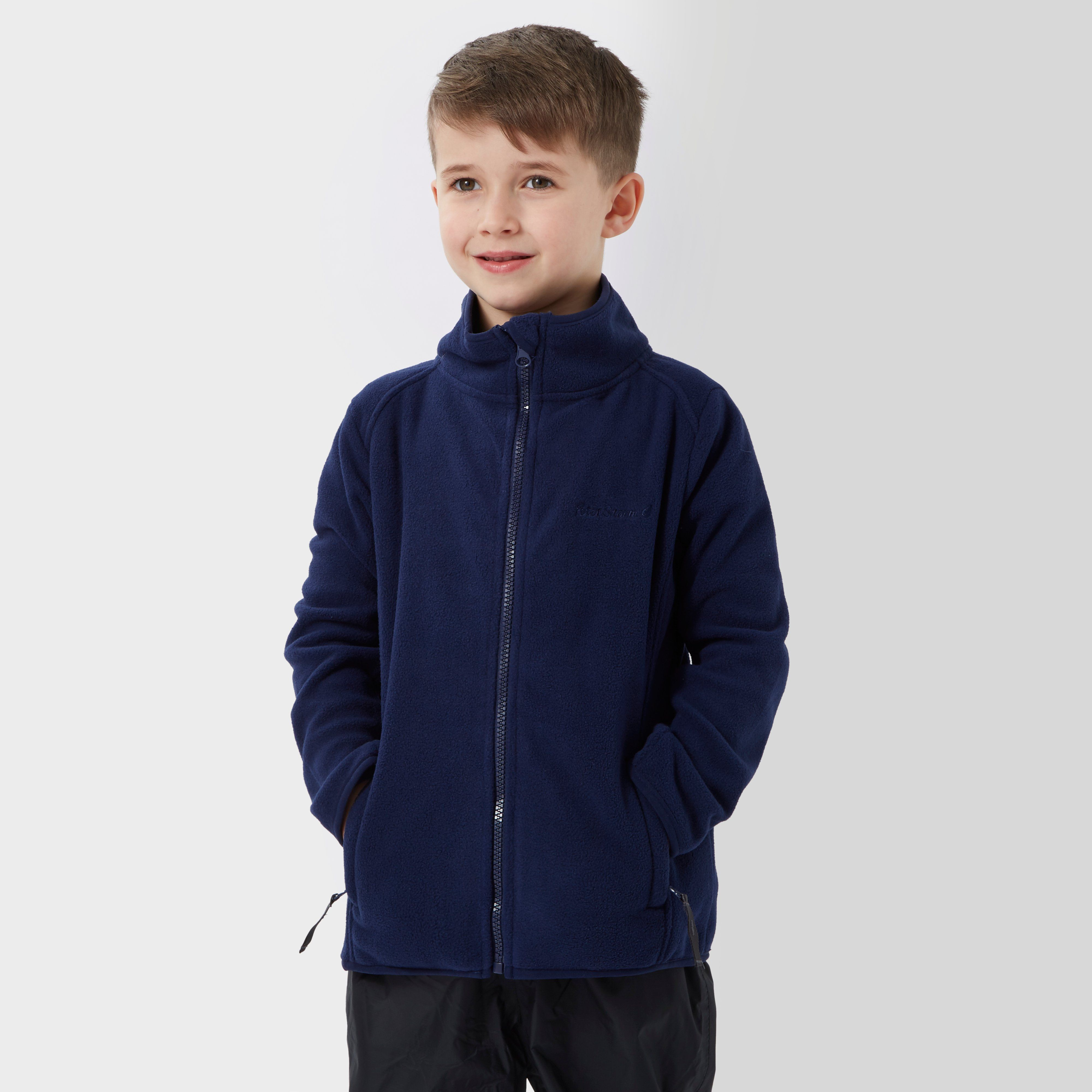 PETER STORM Kids' Unisex Stormy Full Zip Fleece