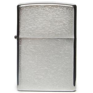 ZIPPO Classic Brushed Chrome Windproof Lighter