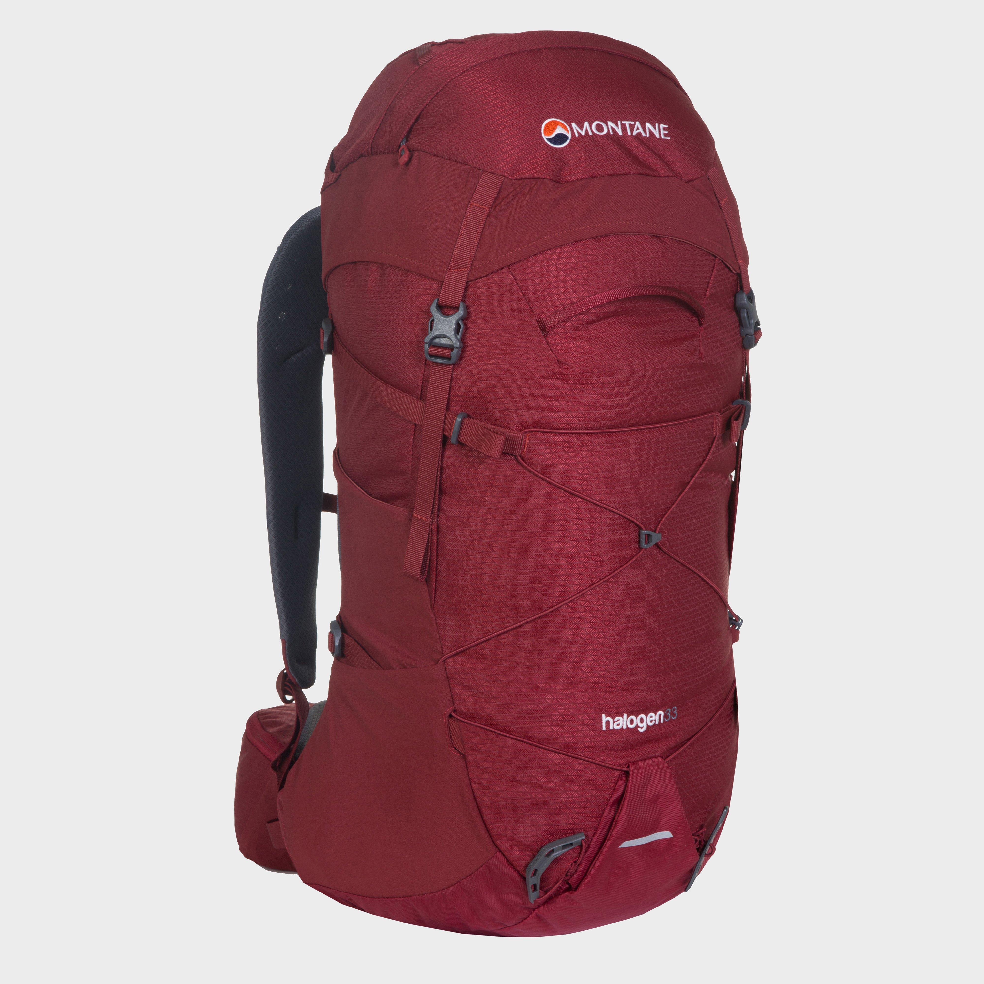 Montane Halogen 33 Daypack, Dark Red