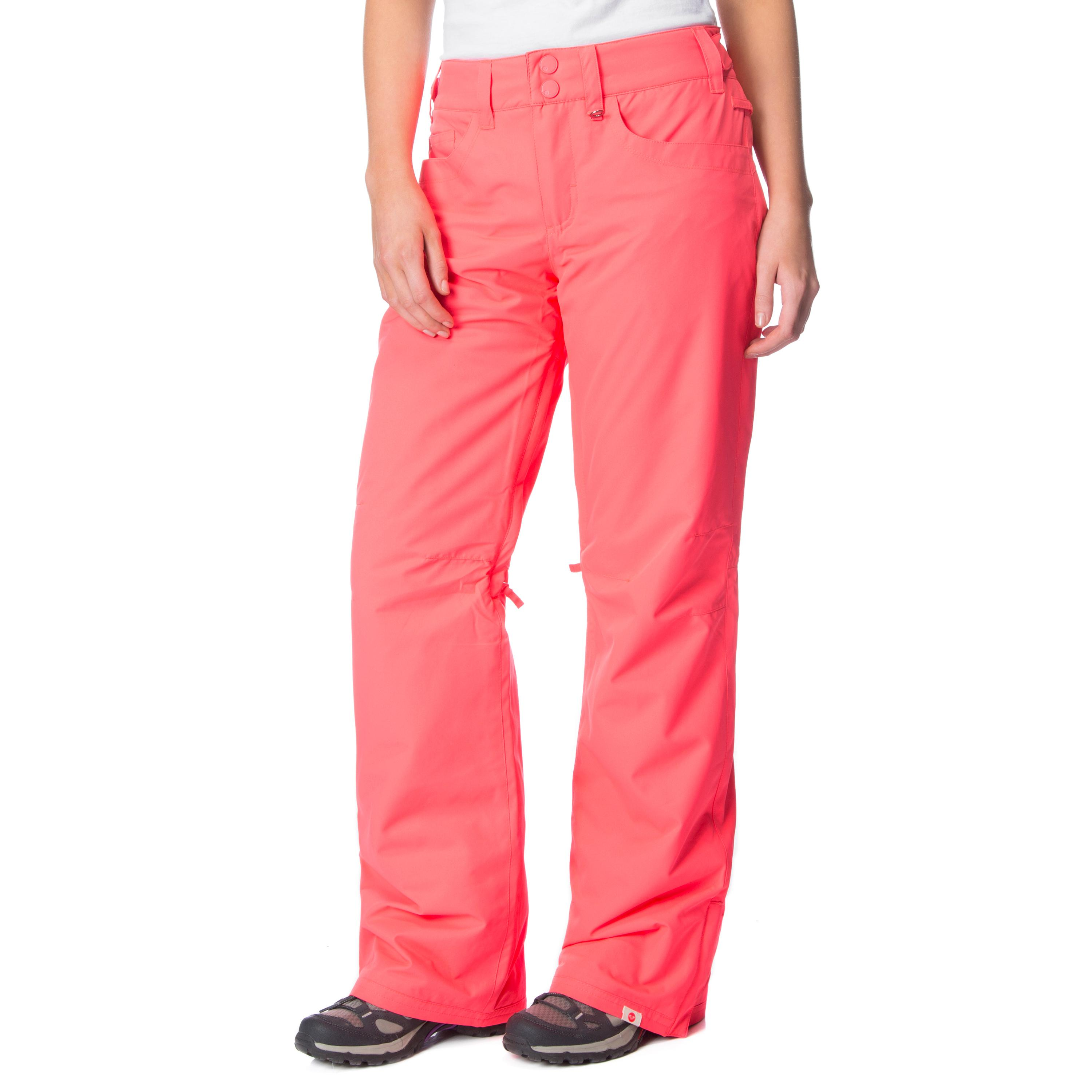 Roxy Women's Byrd Snowboard Pants, Pink