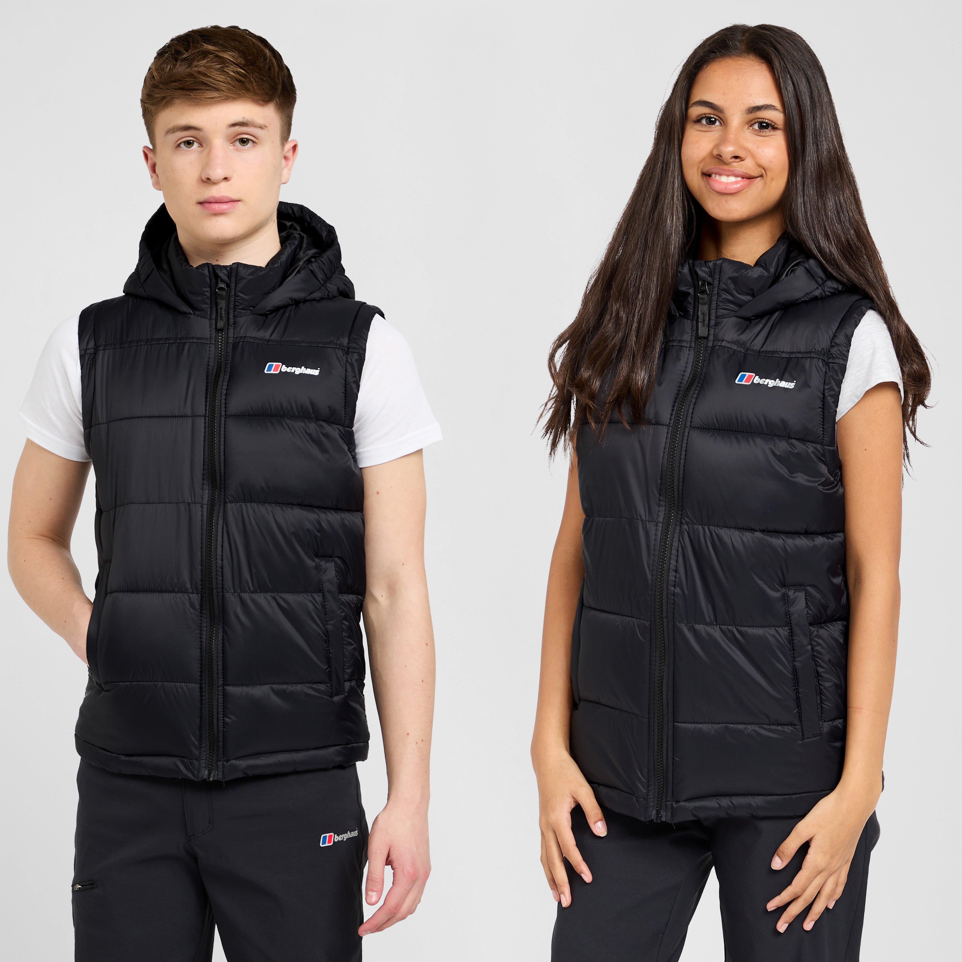 Berghaus Kids Burham Gilet - Black/black  Black/black