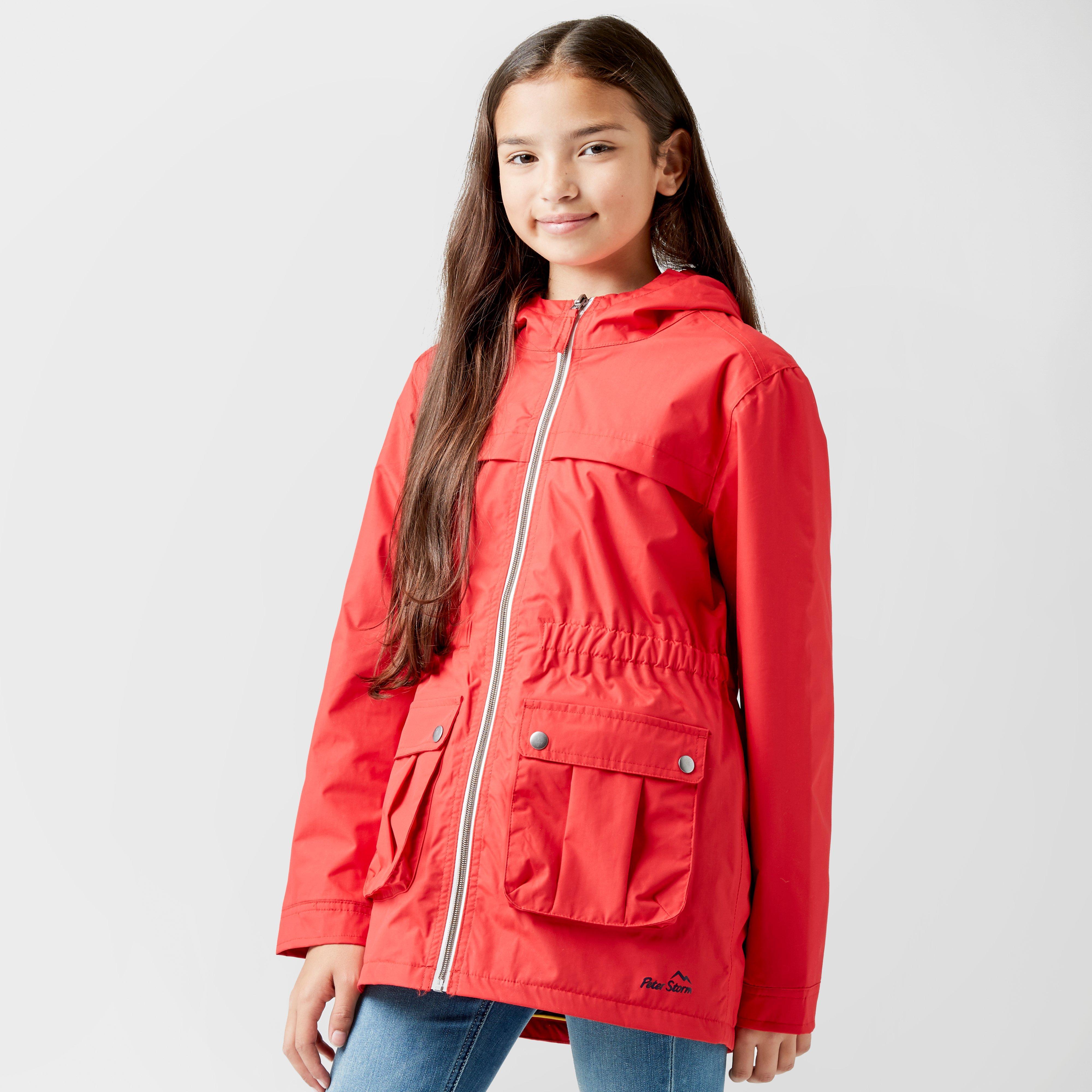 Photo of Peter storm kids weekend waterproof jacket - red- red