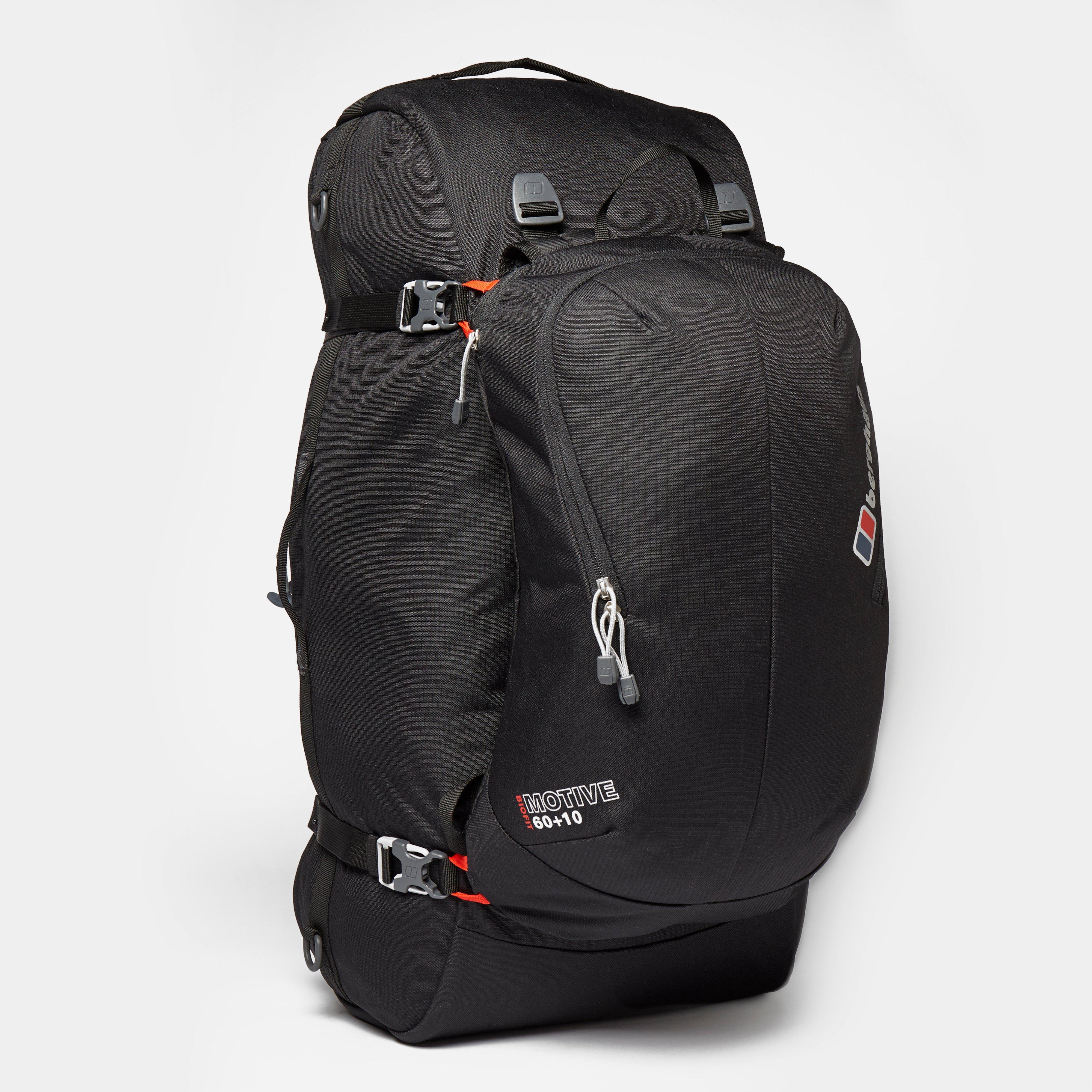 Berghaus Motive 6010 Rucksack  Black Black