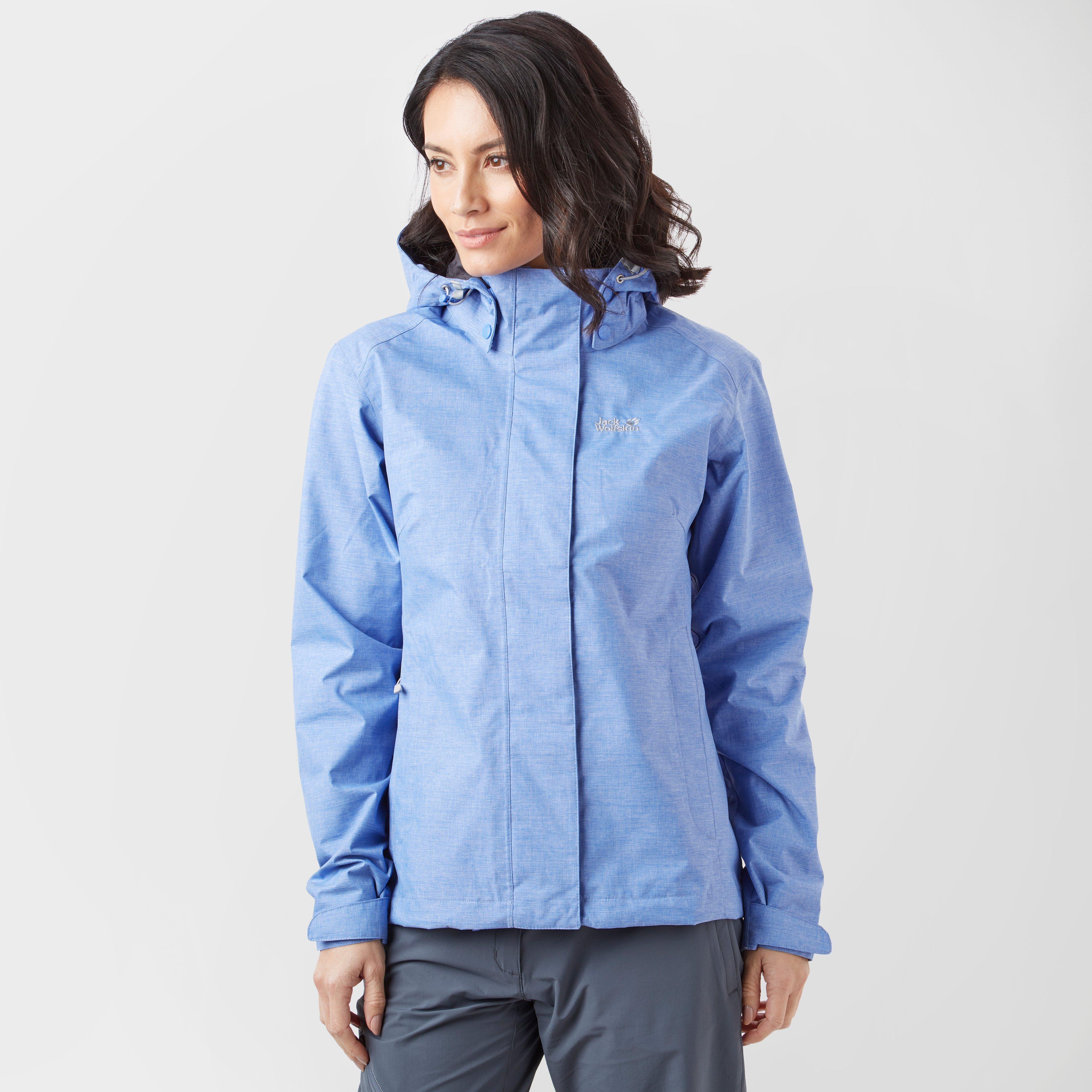 Jack Wolfskin Women's Paradise Valley Jacket, Blue