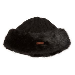 BARTS Women's Fake Fur Cable Beanie
