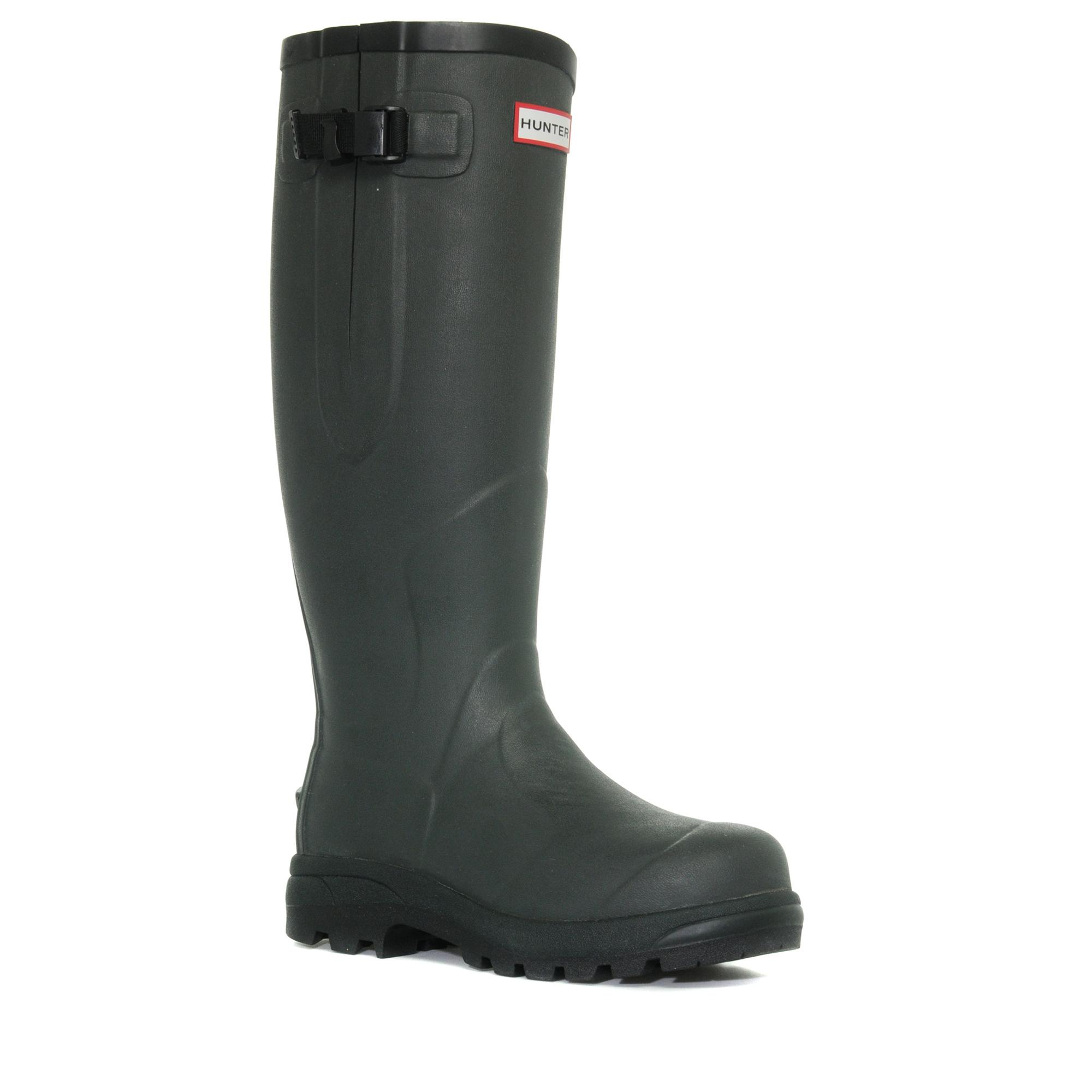 Hunter Unisex Balmoral Classic Wellies Green