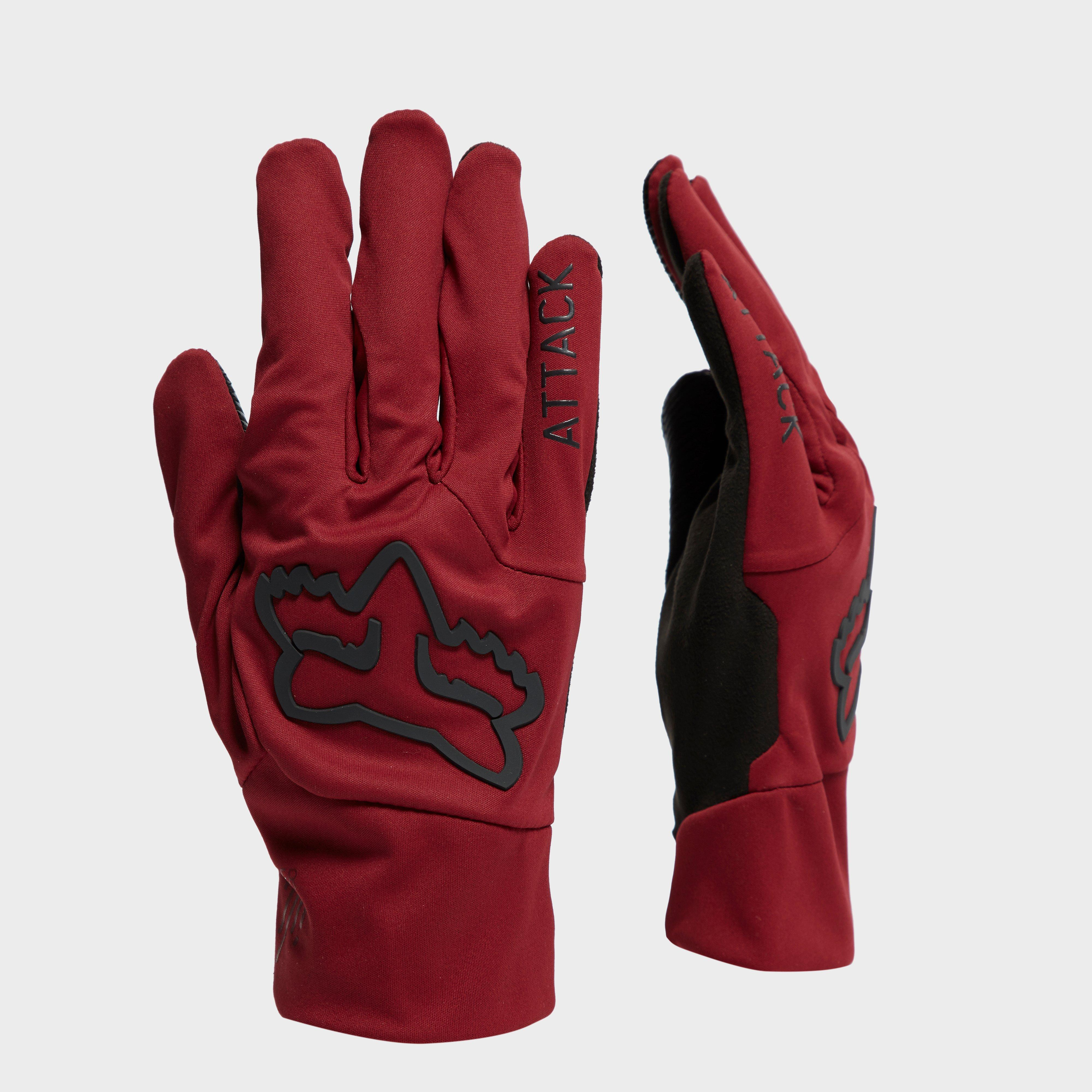 Fox Attack Water Glove - Red, Red