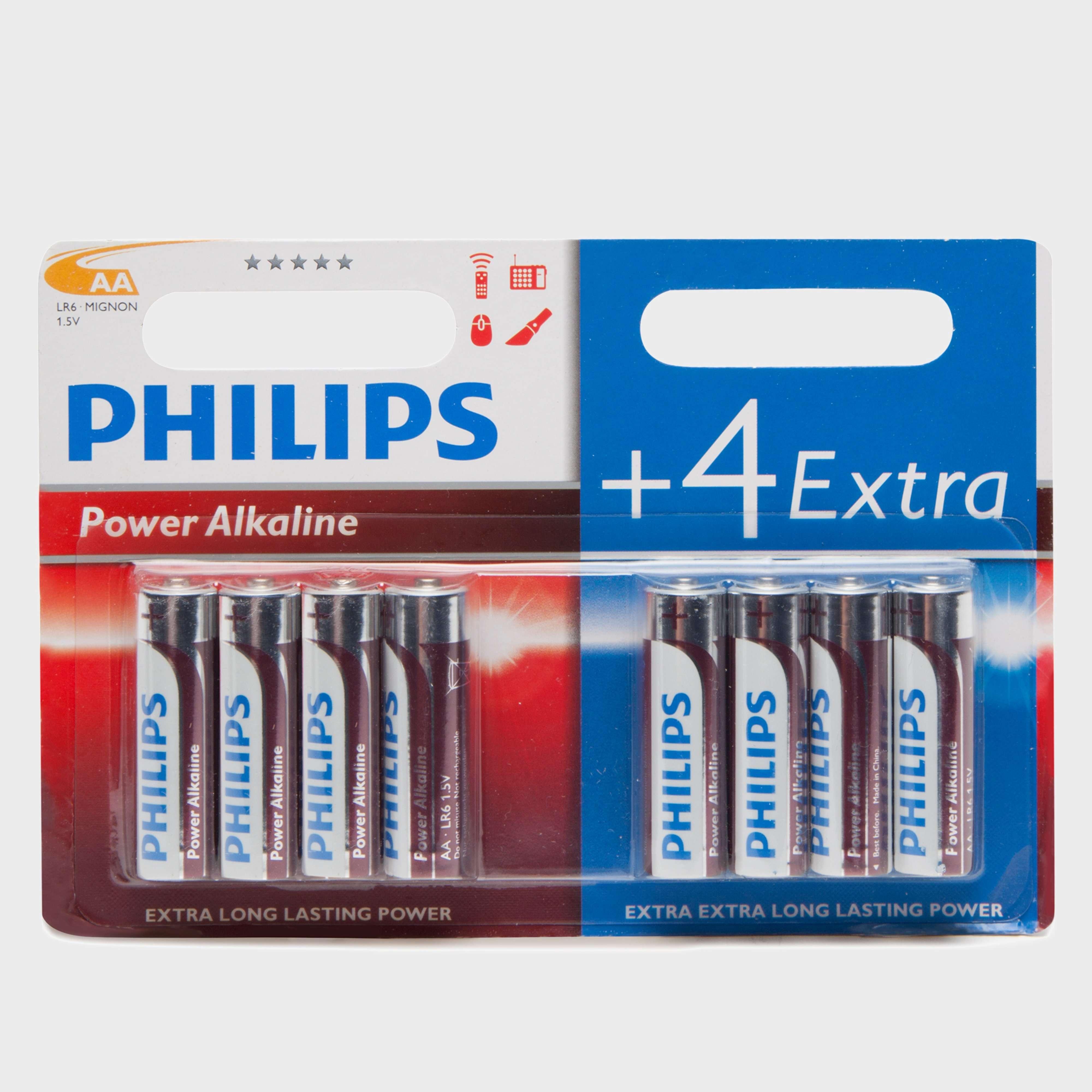 PHILLIPS Ultra Alkaline AA LR6 Batteries 8 Pack