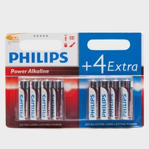PHILLIPS PowerLife AA LR6 B4+4 Alkaline Batteries