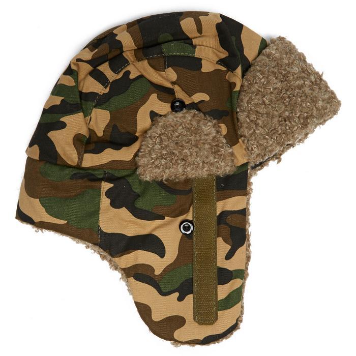 Kids Fur Trapper Earflap Hat