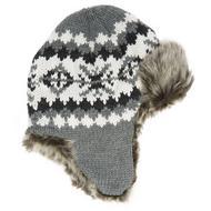 Boys' Jacquard Trapper Hat