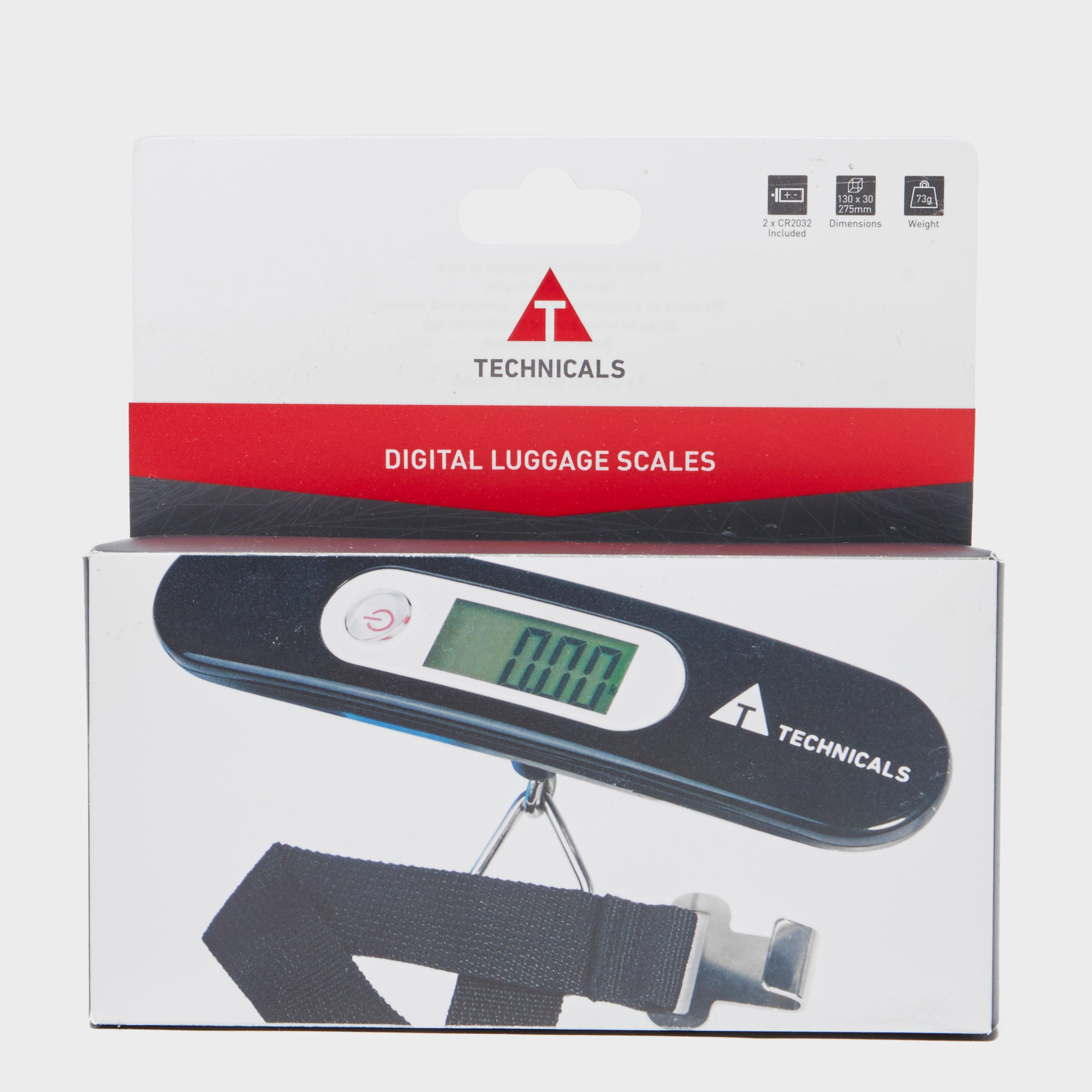 Technicals Digital Luggage Scales - Black/blk  Black/blk