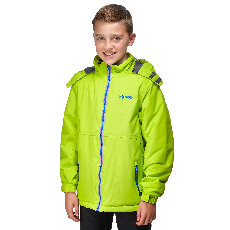 Alpine Boys' Mont Blanc Jacket, Green