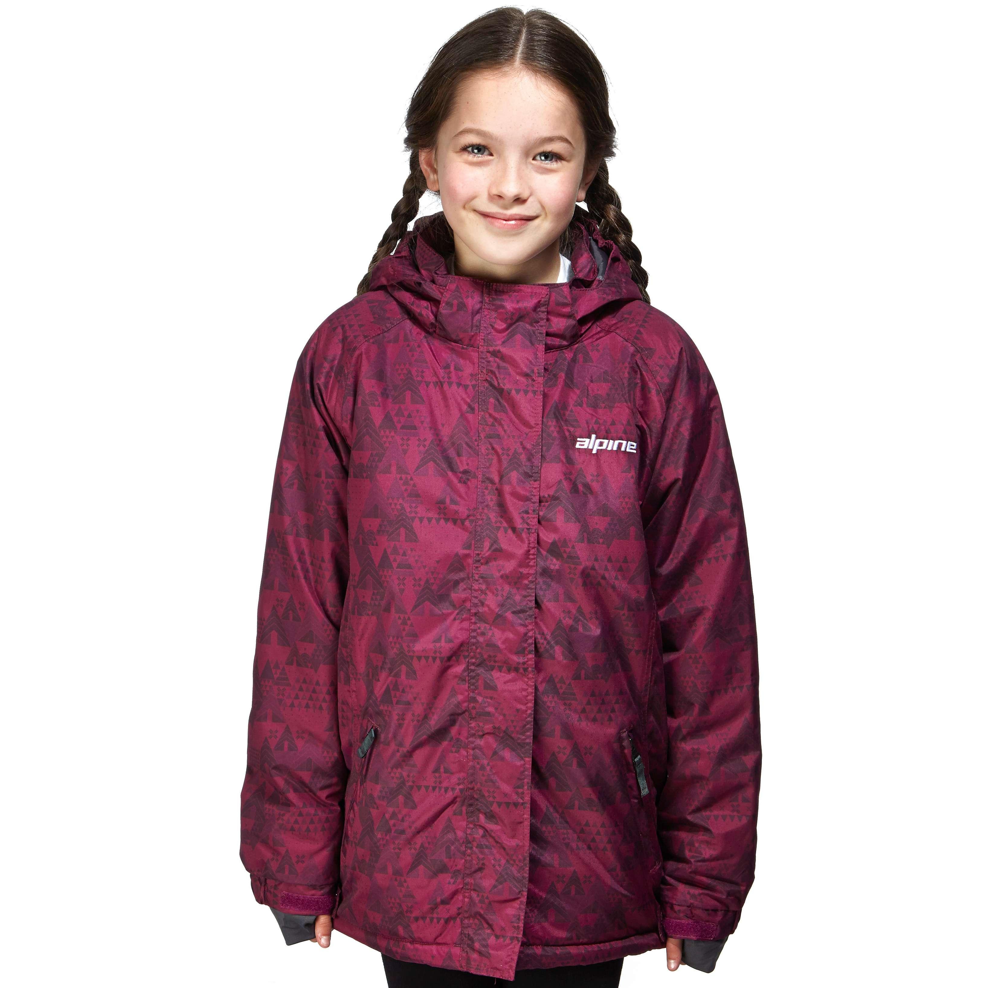 ALPINE Girls' Paradise Ski Jacket